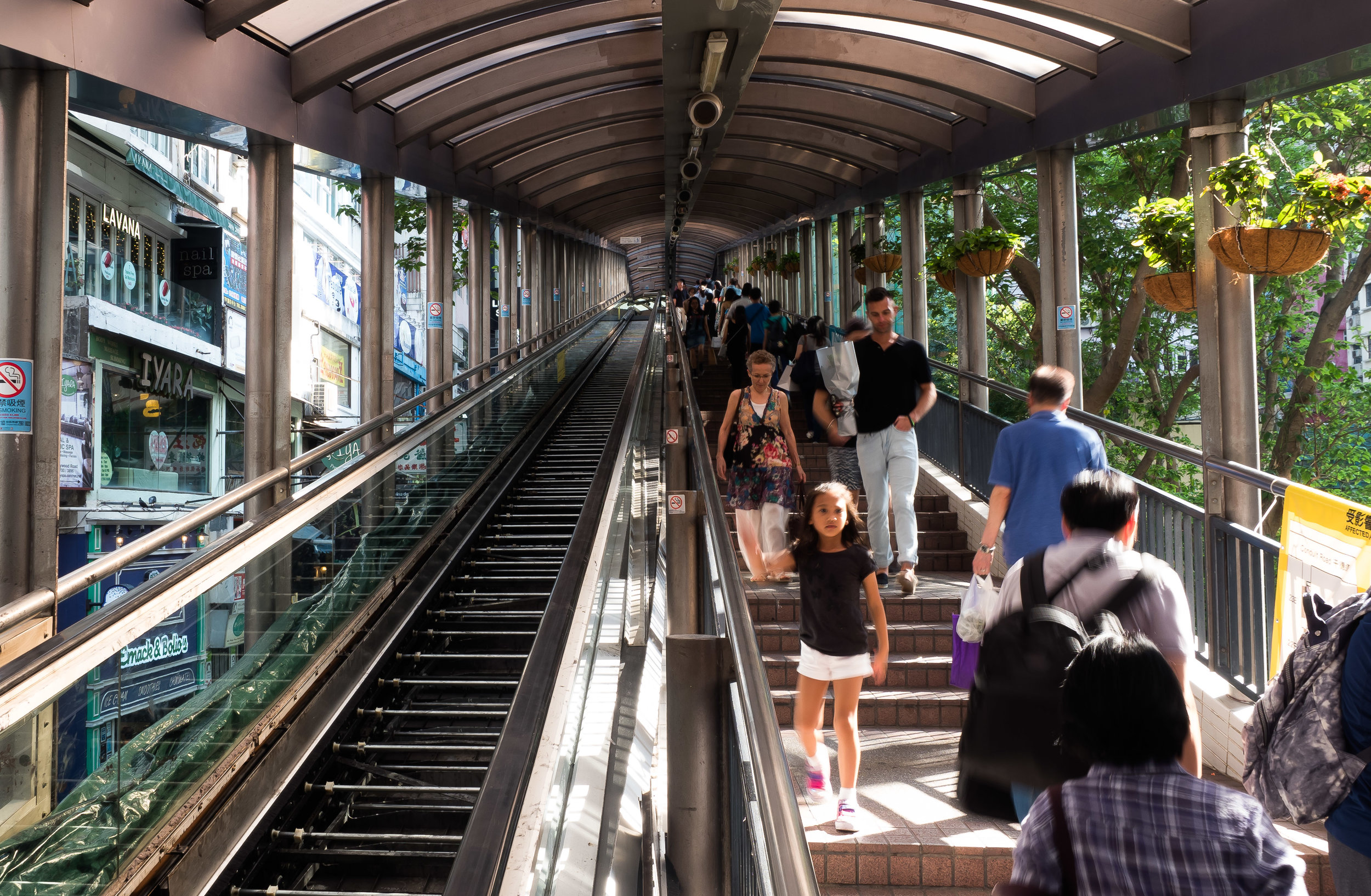 Central Escalator