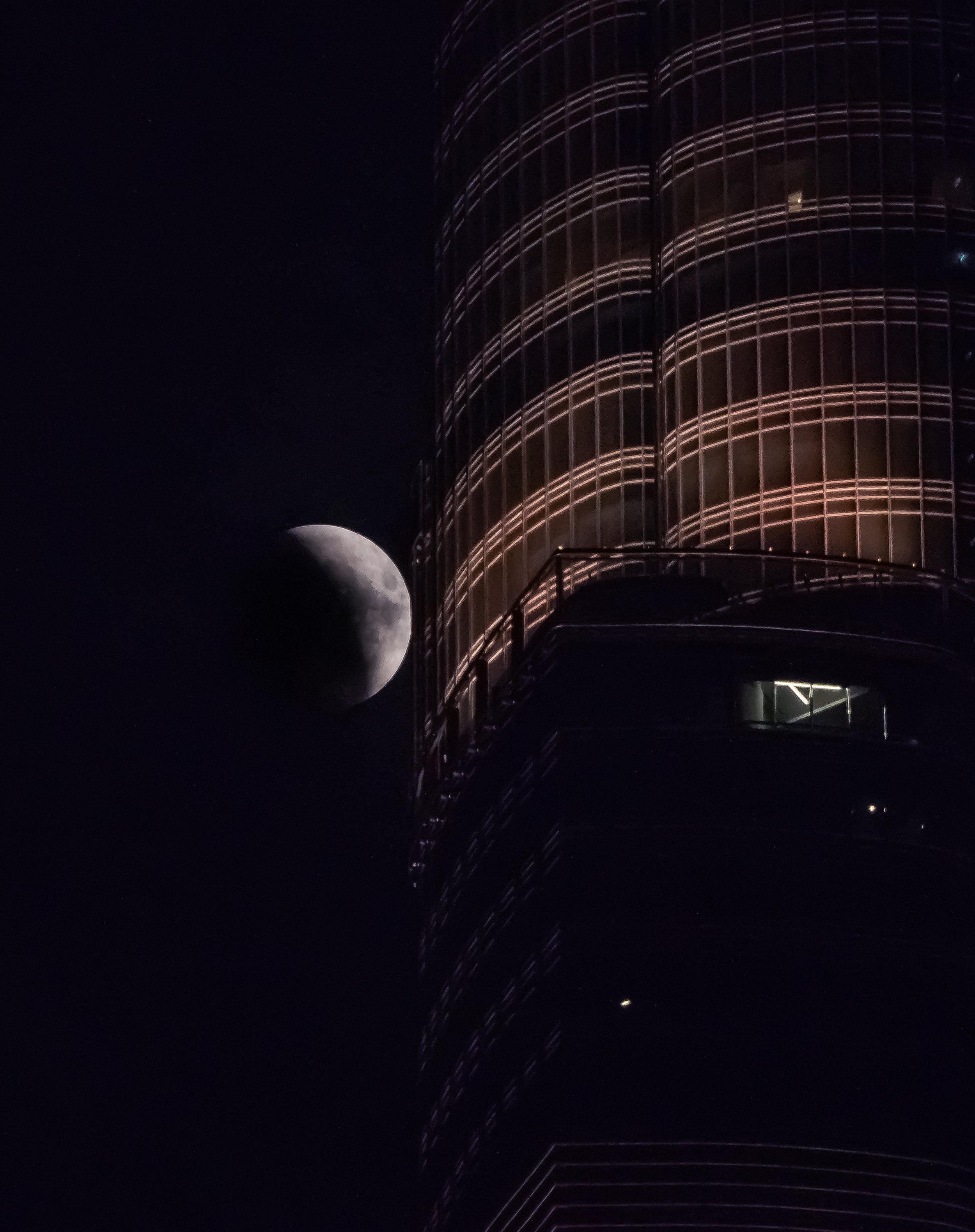 Passing Burj Khalifa