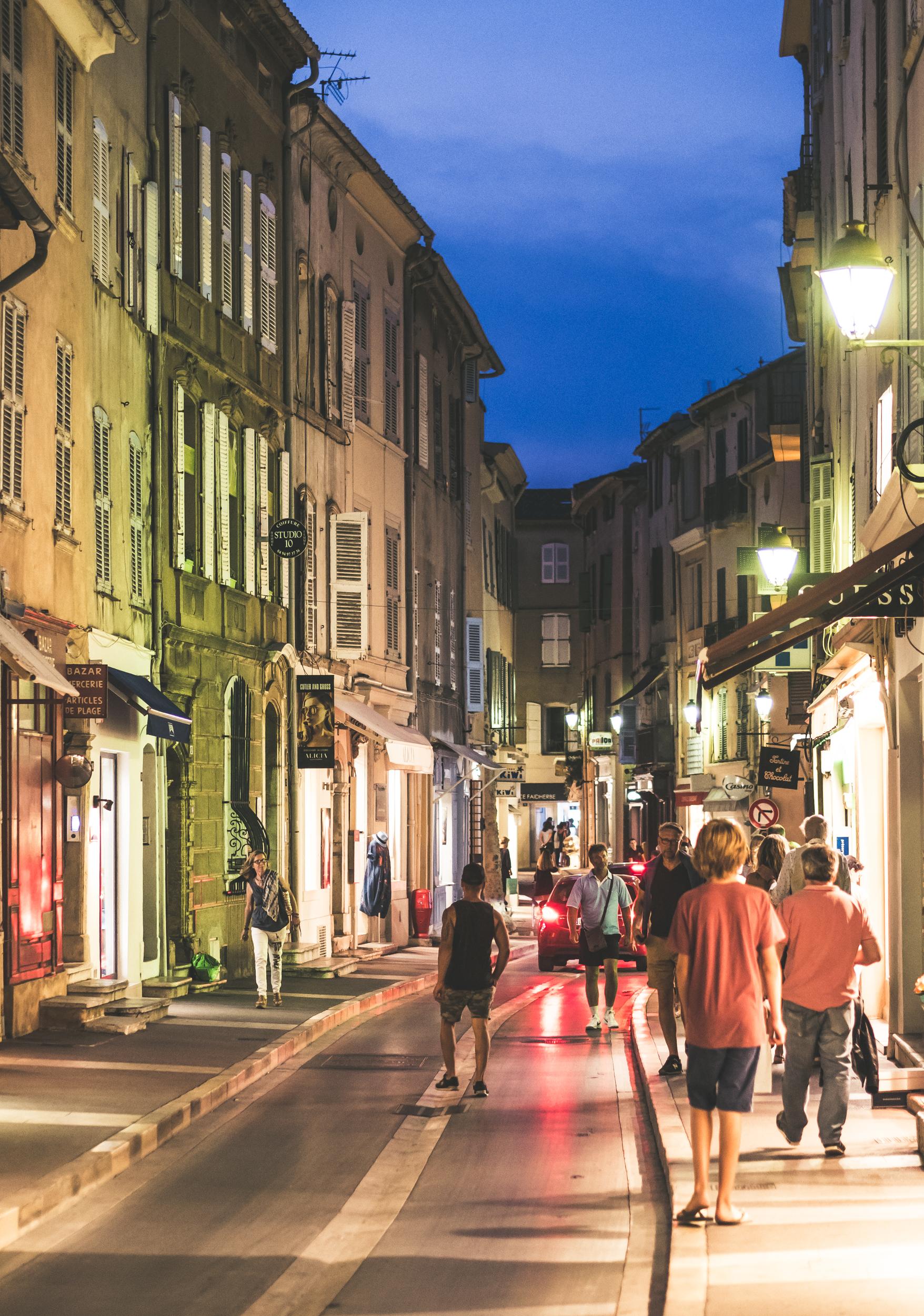 St Tropez Alleys