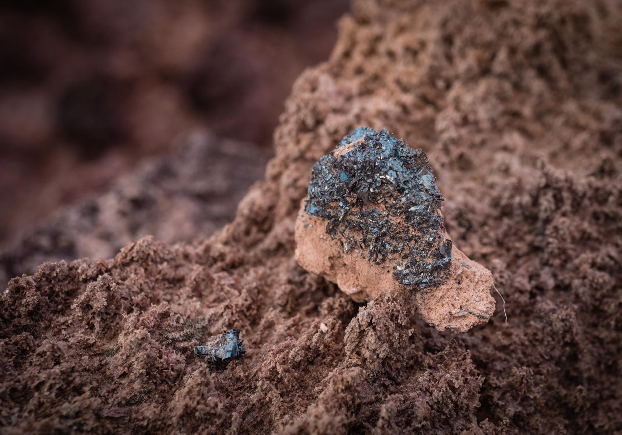 Oxidized Iron