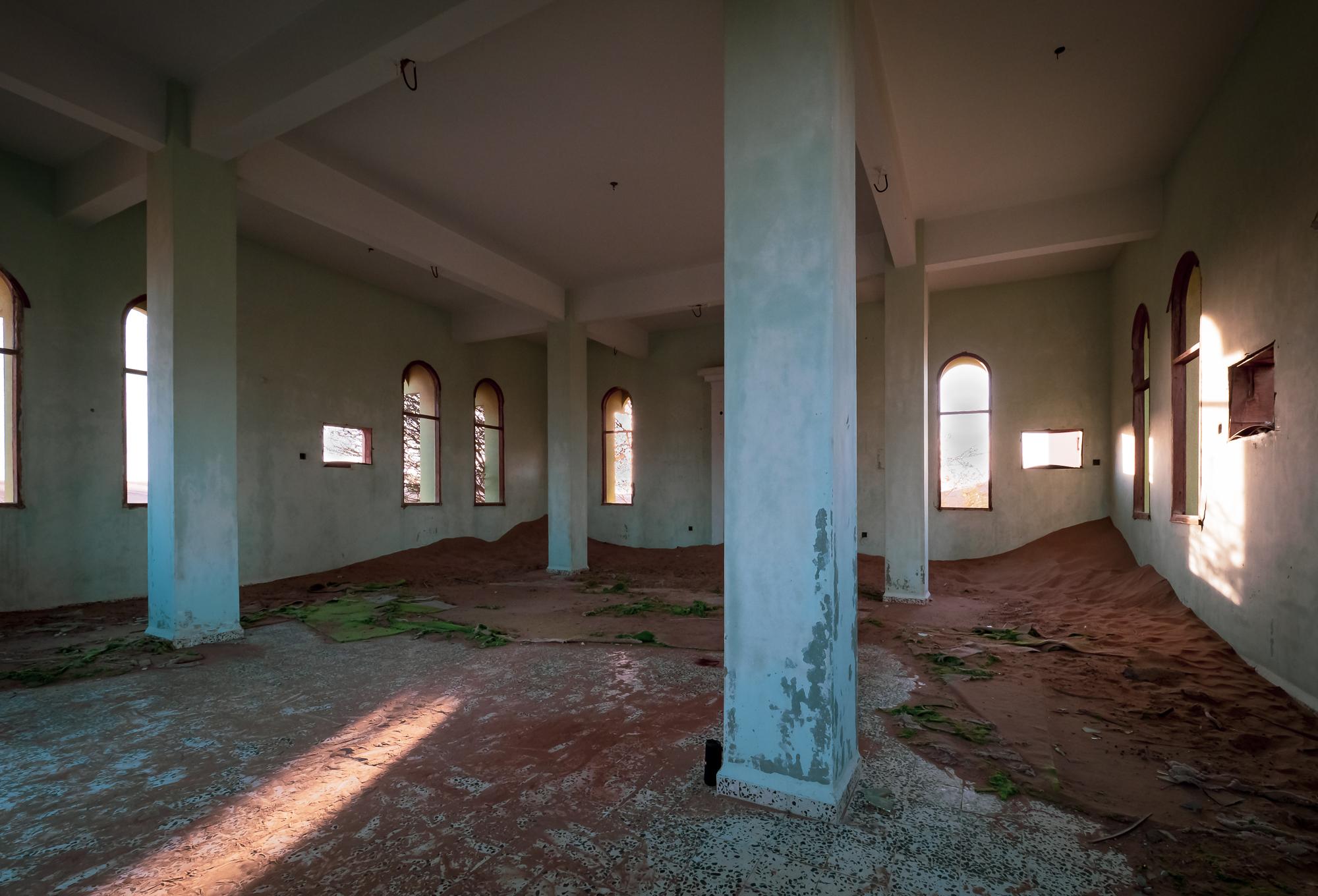 Mosque interiors
