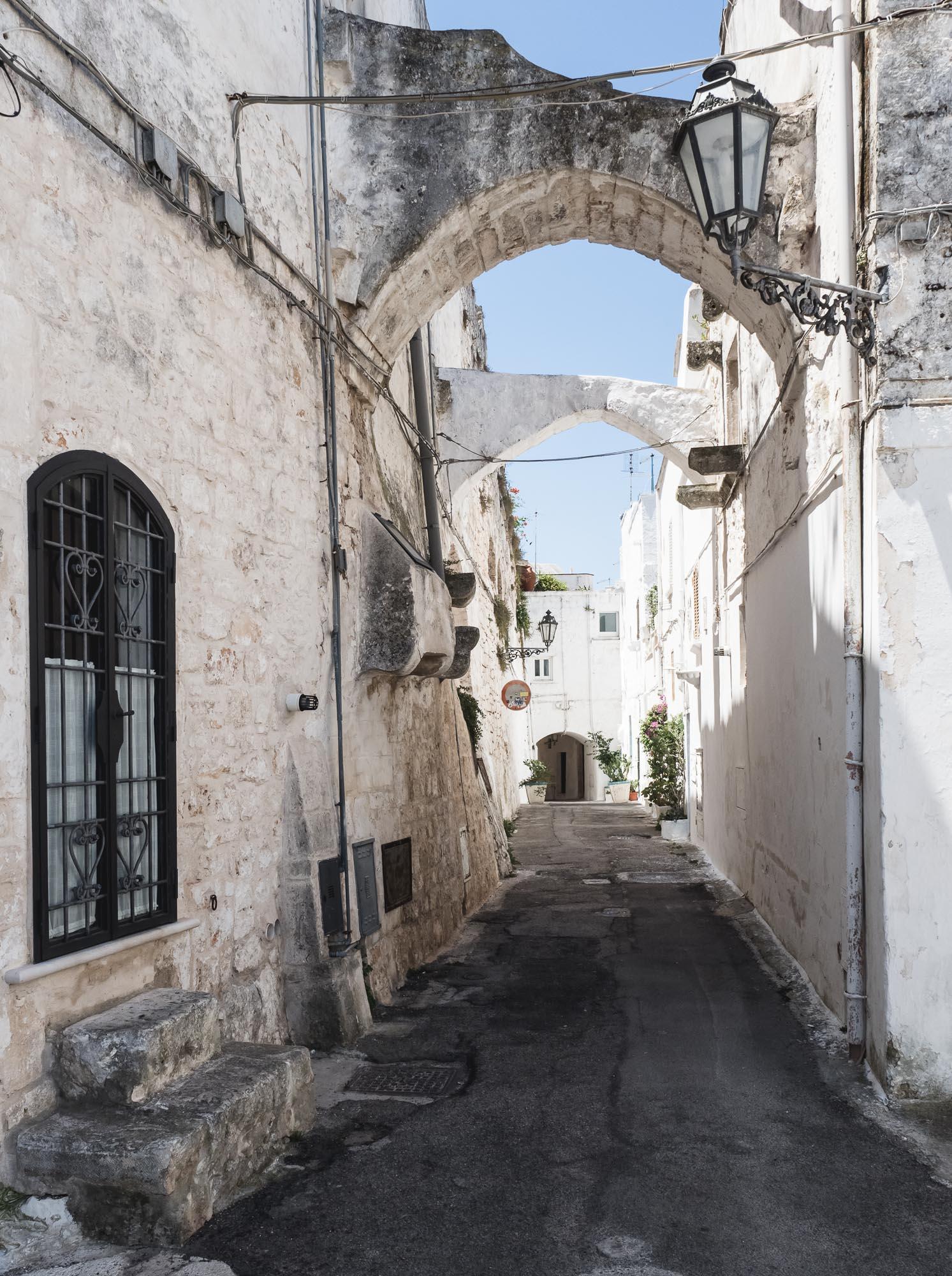 Streets of Ostuni
