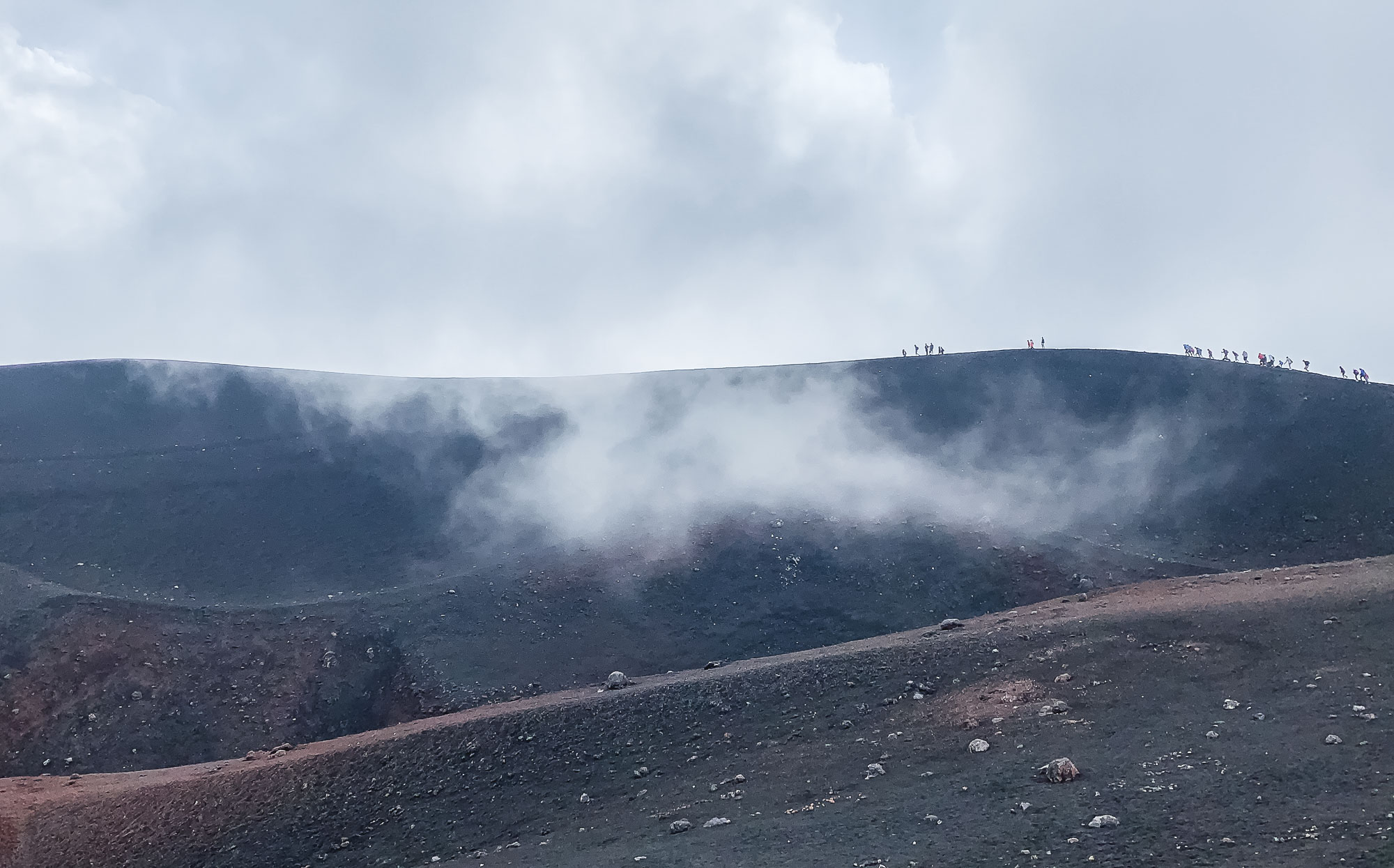 On the Crater's Edge