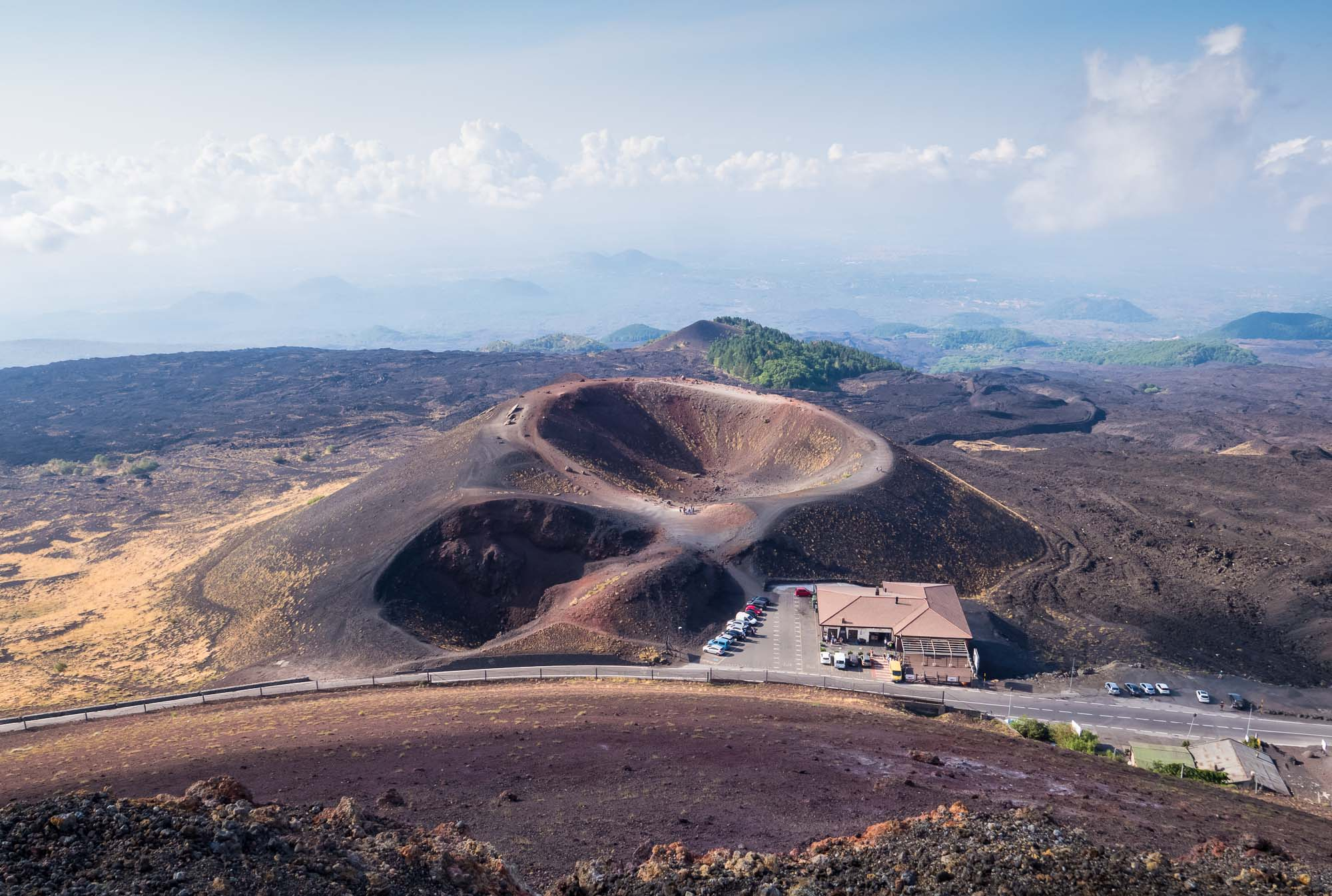 Craters Silvestri of Mount Etna