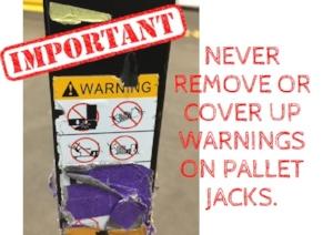 Pallet Jack Warning Sticker.JPG