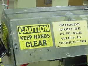 Machine Guarding Hazards — Weeklysafety com