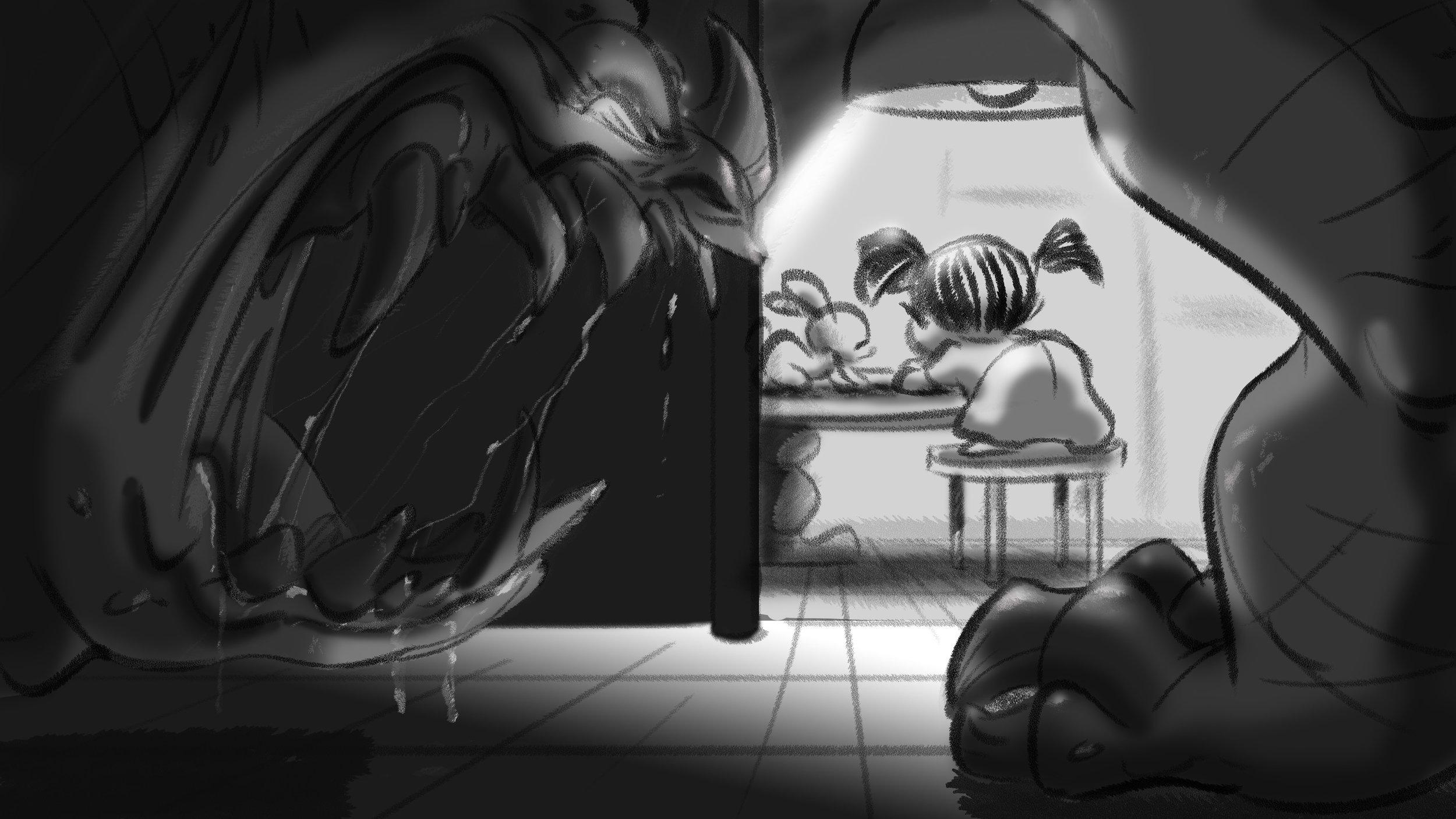 Monster in the kitchen.jpg
