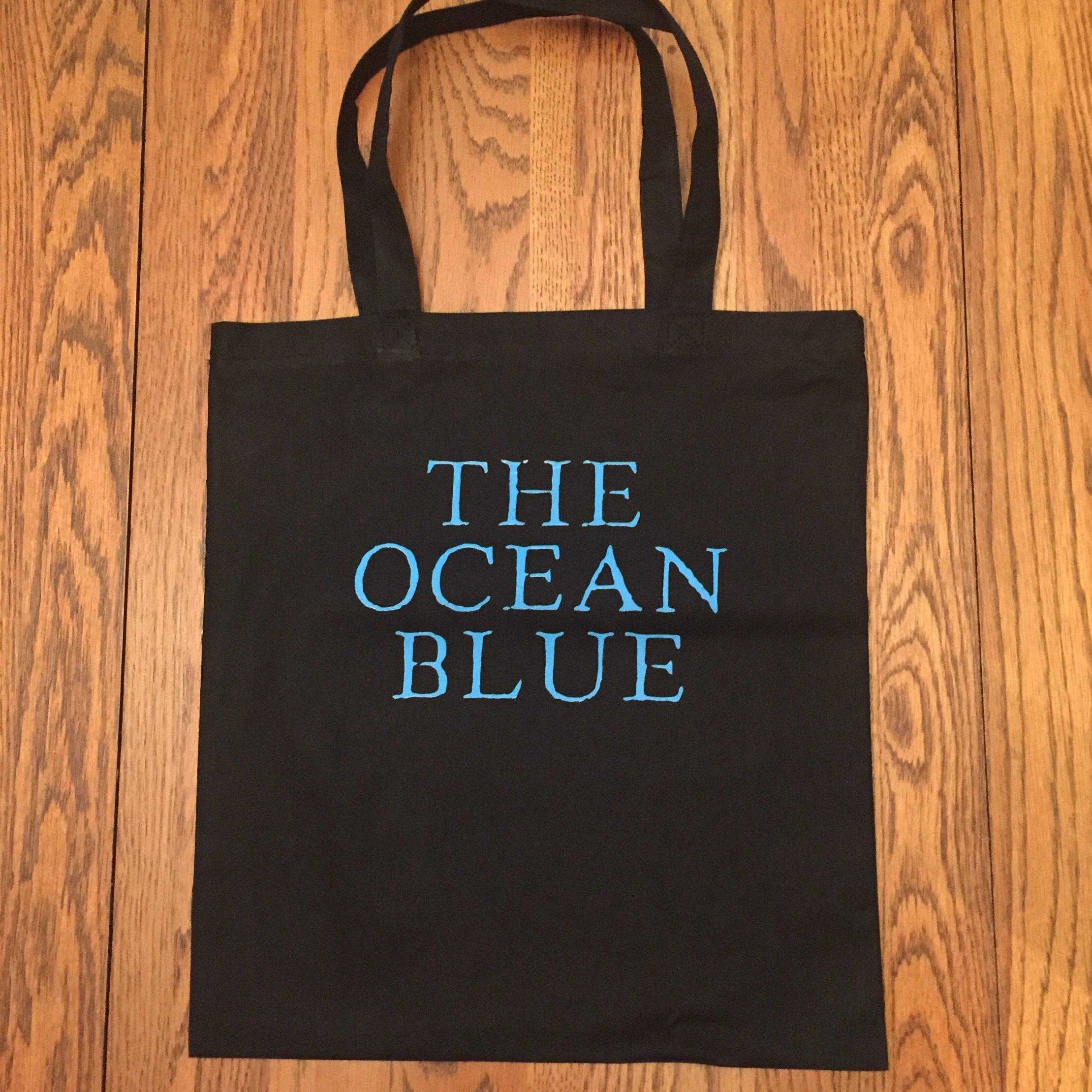 Ocean Blue Canvas Tote bag