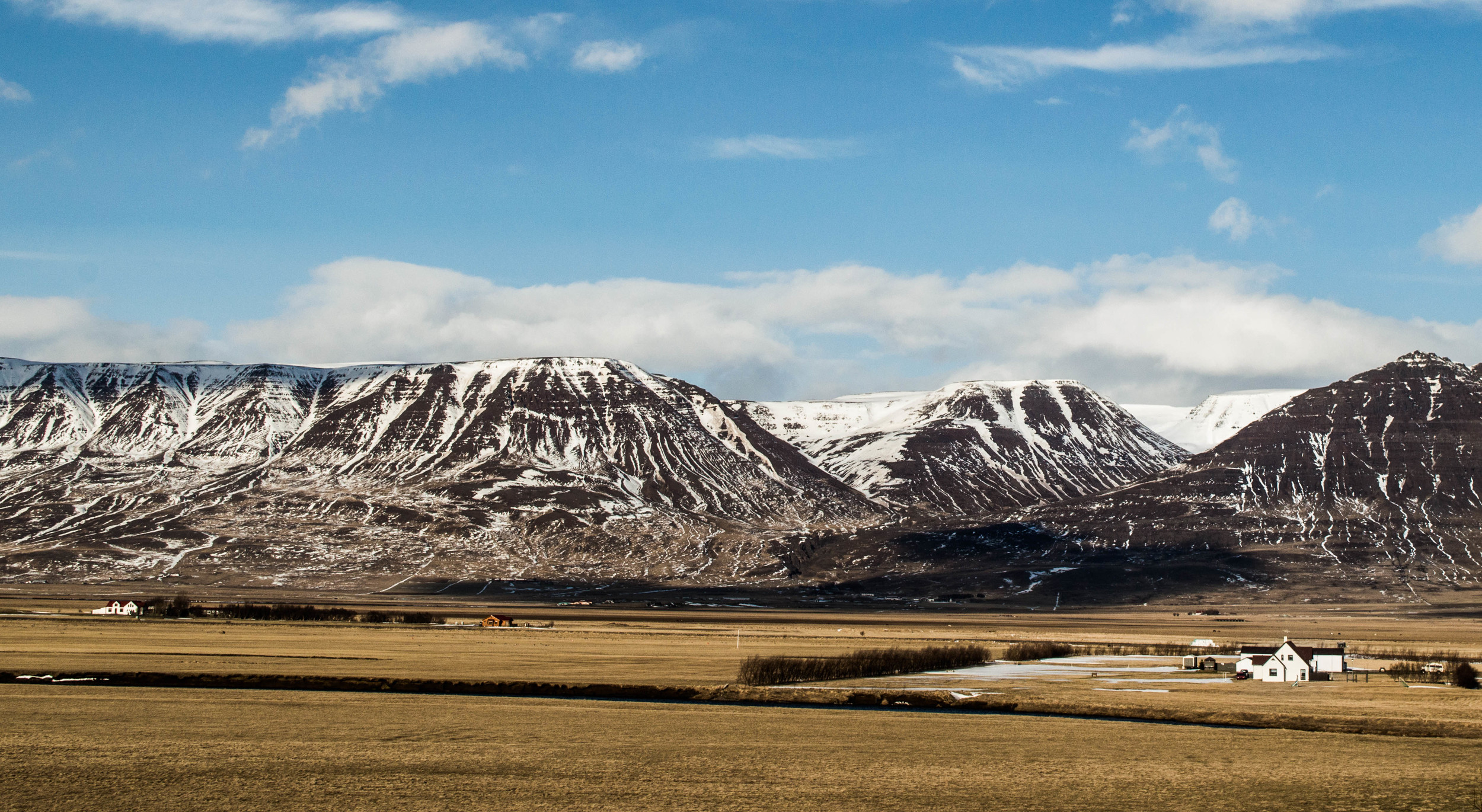 Farm near Akureyri, Iceland.