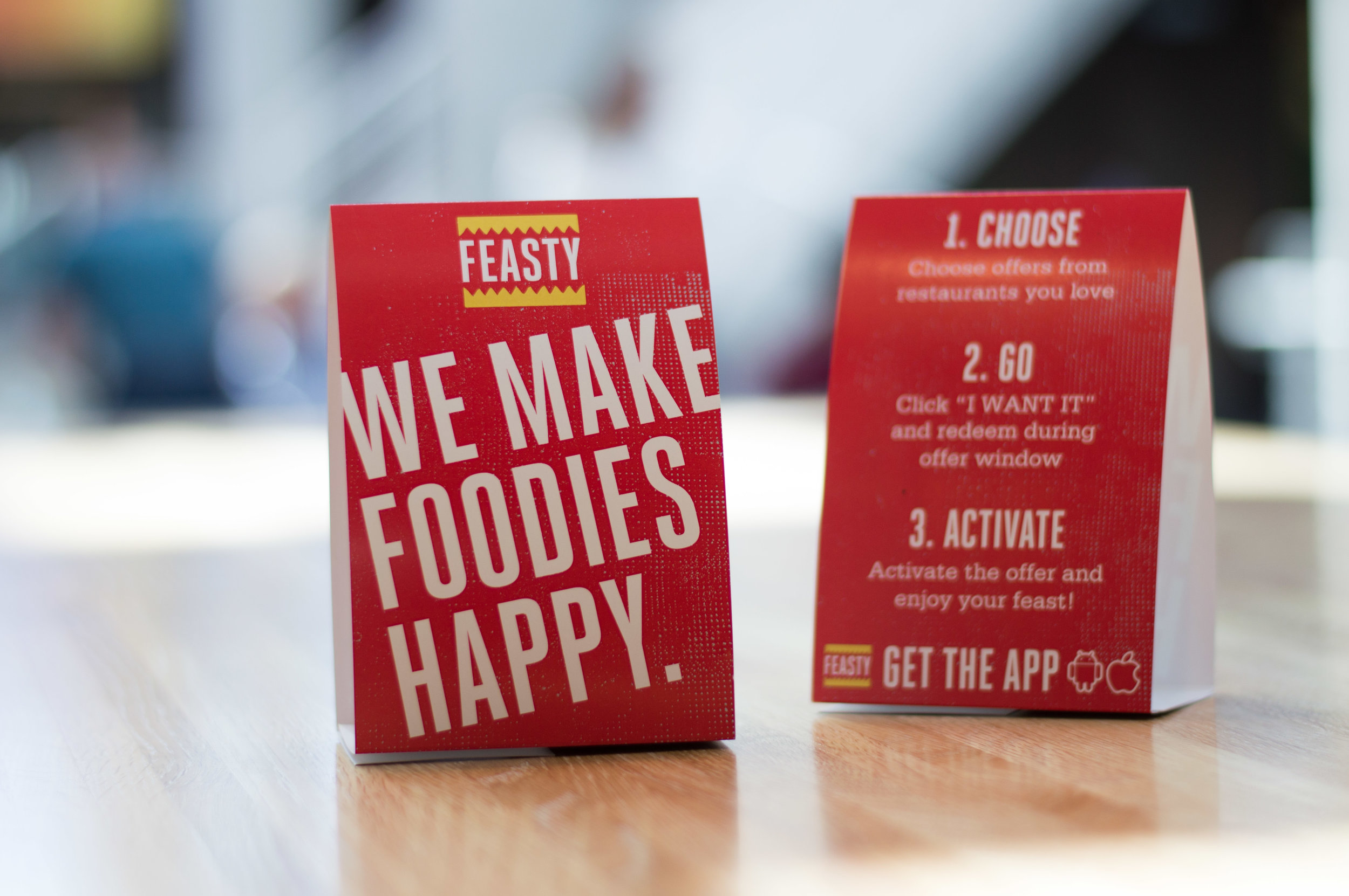 Feasty Table Tents