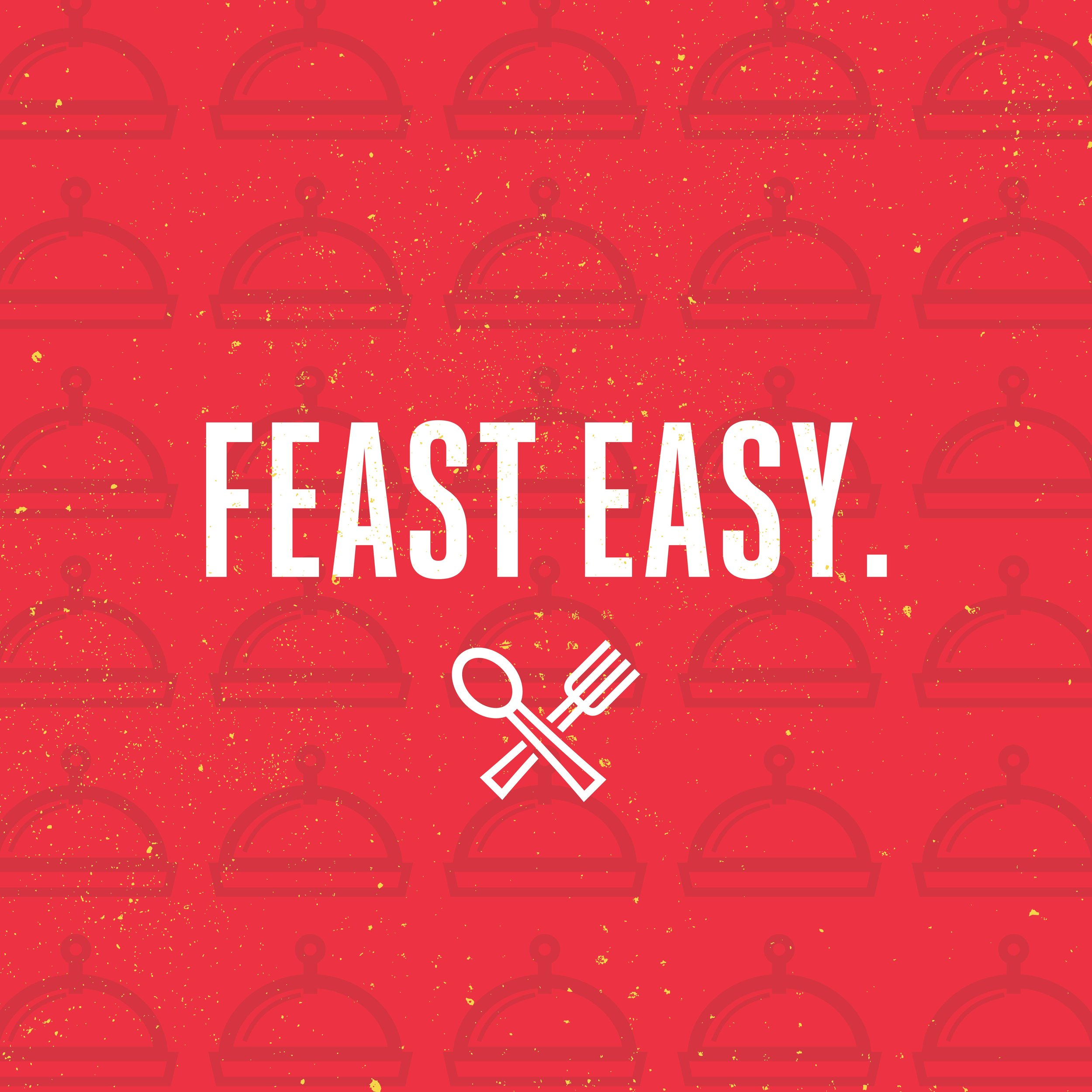 Feasty app graphic