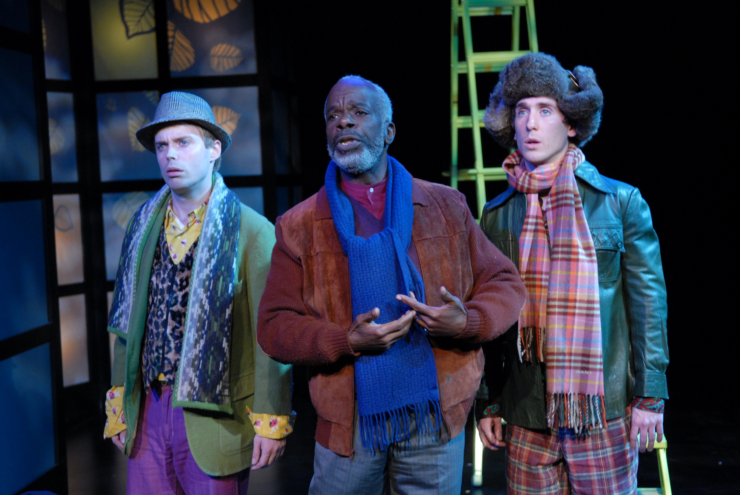 AS YOU LIKE IT at the Folger Theatre Pictured with Joseph Marcell Photo by Stan Barouh