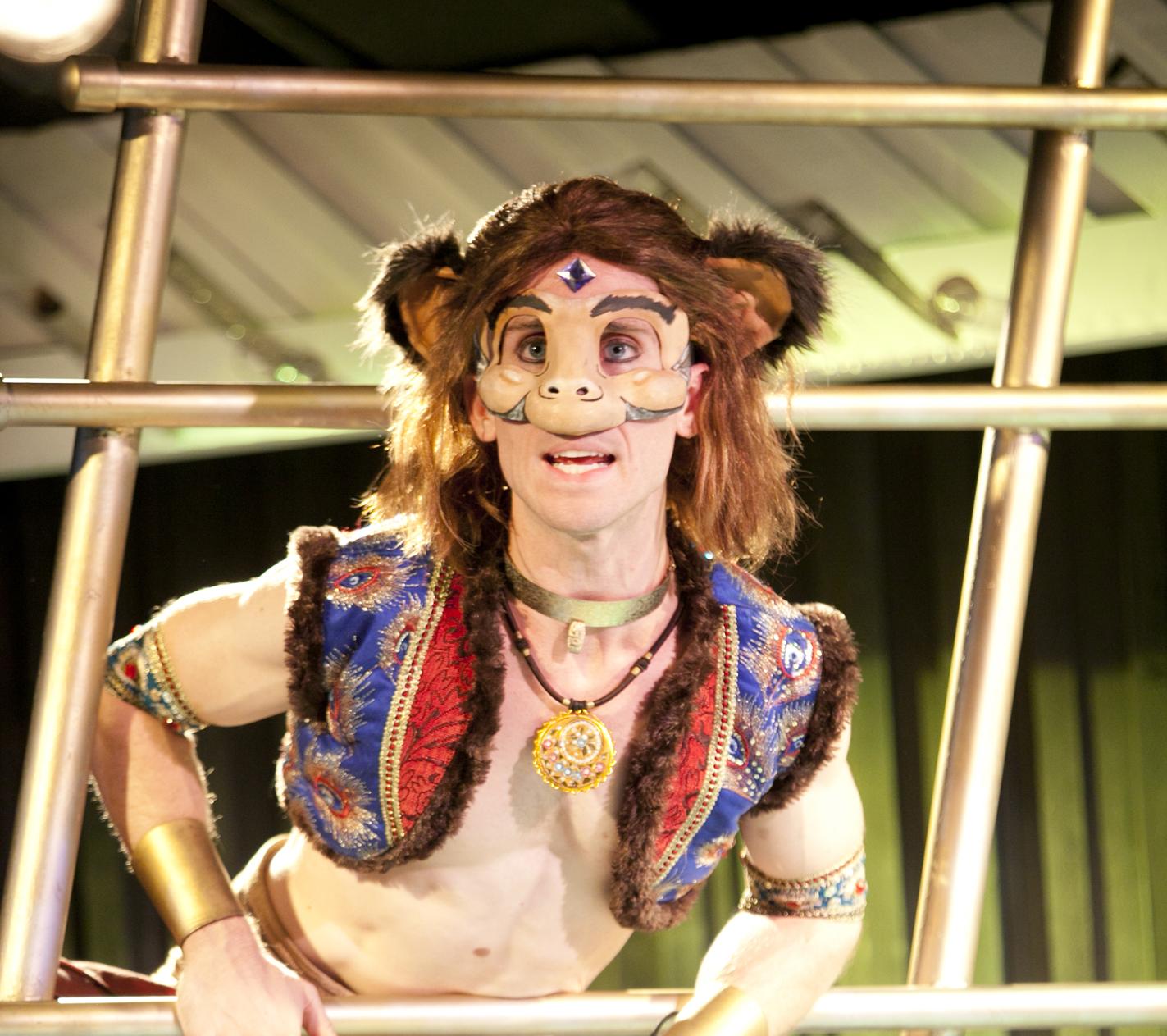 Matthew McGloin as Hanuman in  The Ramayana