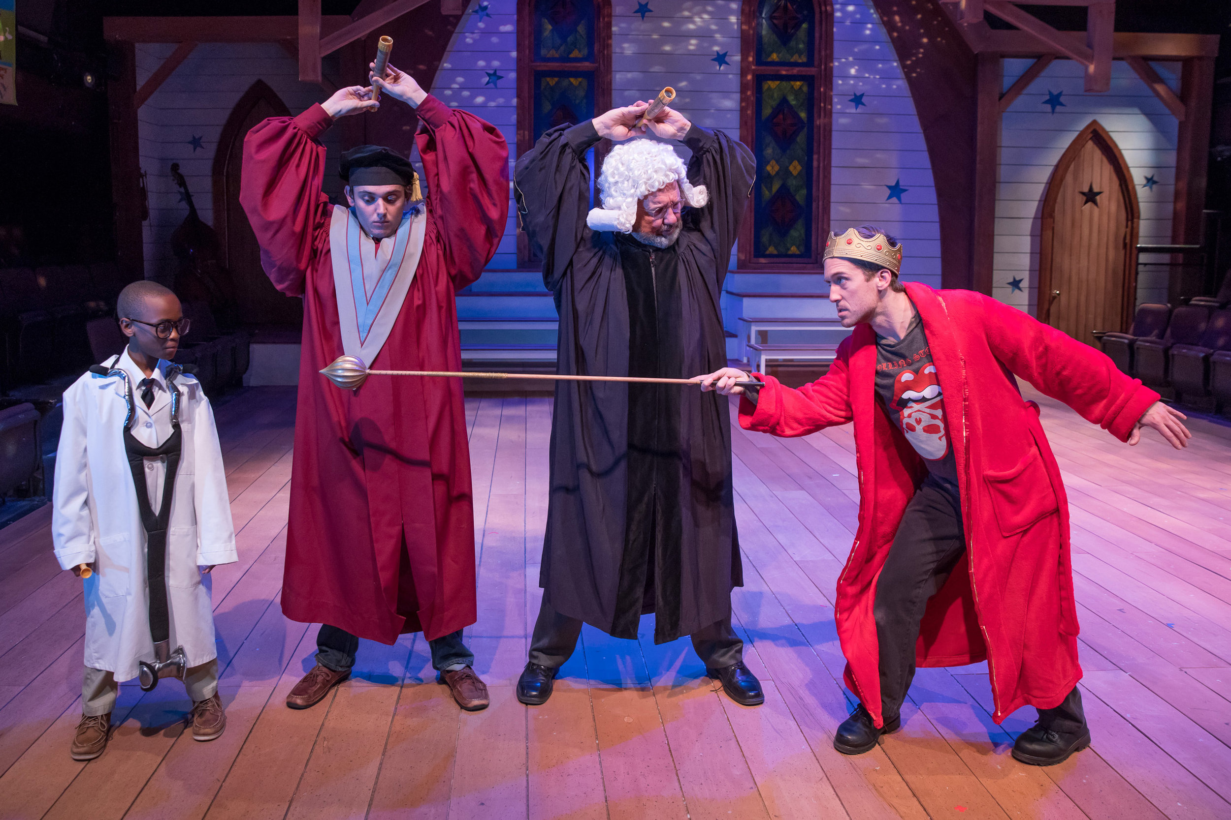 BEAUTIFUL STAR: AN APPALACHIAN NATIVITY at Triad Stage Photo by VanderVeen Photographers