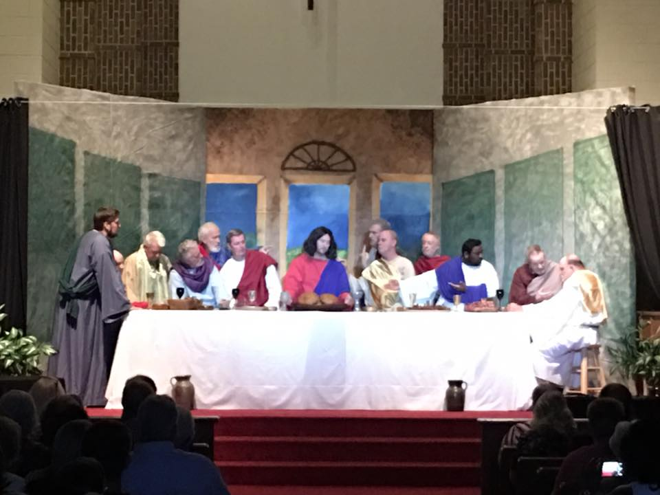 Living Last Supper Drama