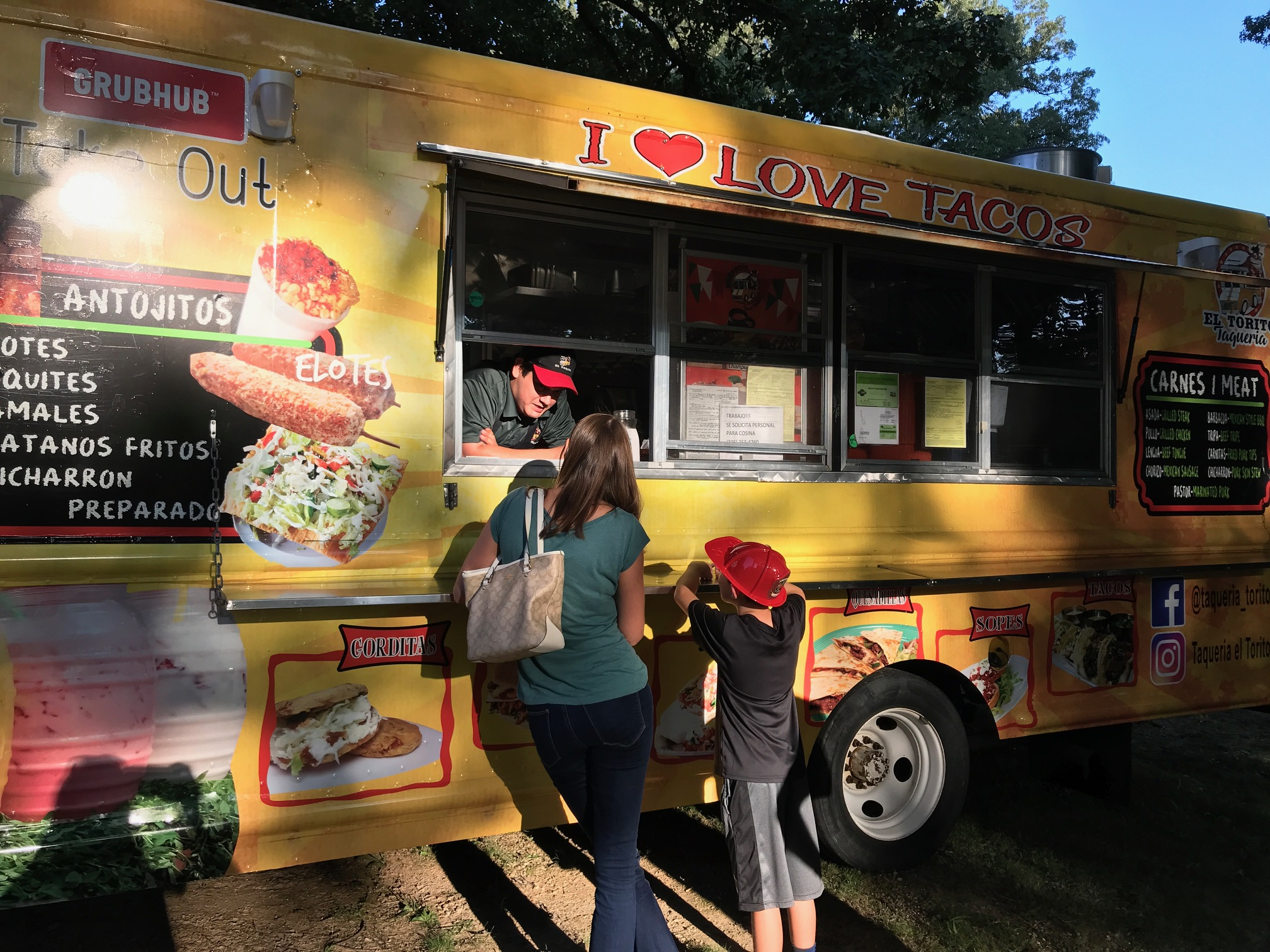 Food truck fun at Family Fun Night