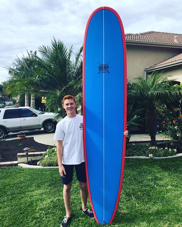 @grifglenn with his new #crookssurfessentials custom longboard! Look out for this young talented surfer on the @surfwsa, ripping his way to 1st place on his CSE shred sled! 🏄☝️️ Christmas is just around the corner, contact us today and place an order for your new board! Click the link in our bio or visit our website at www.crookssurfessentials.com to view our models and for more information! 😎🏄☝️️👍 #surfboard #surfer #newboard #toy #newtoy #christmas #christmaspresent #longboard #custom #customboard #surf #surfing #beach