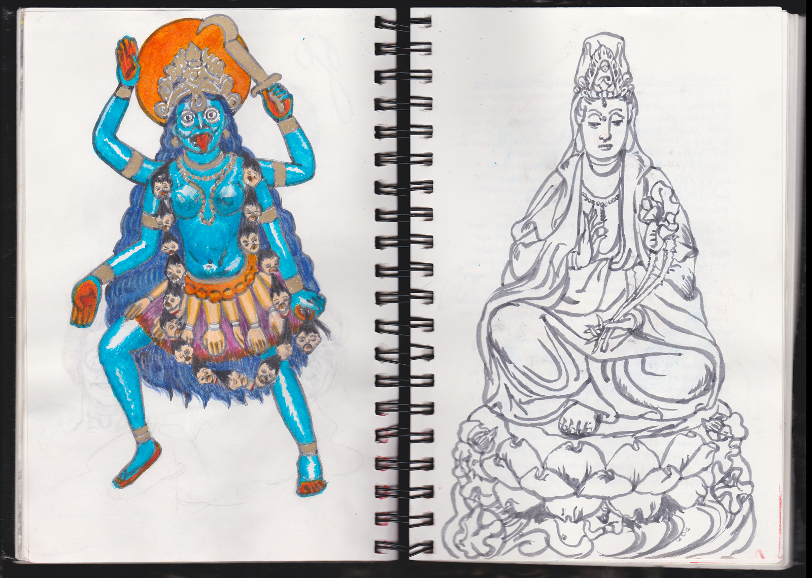 Durga and Quanyin