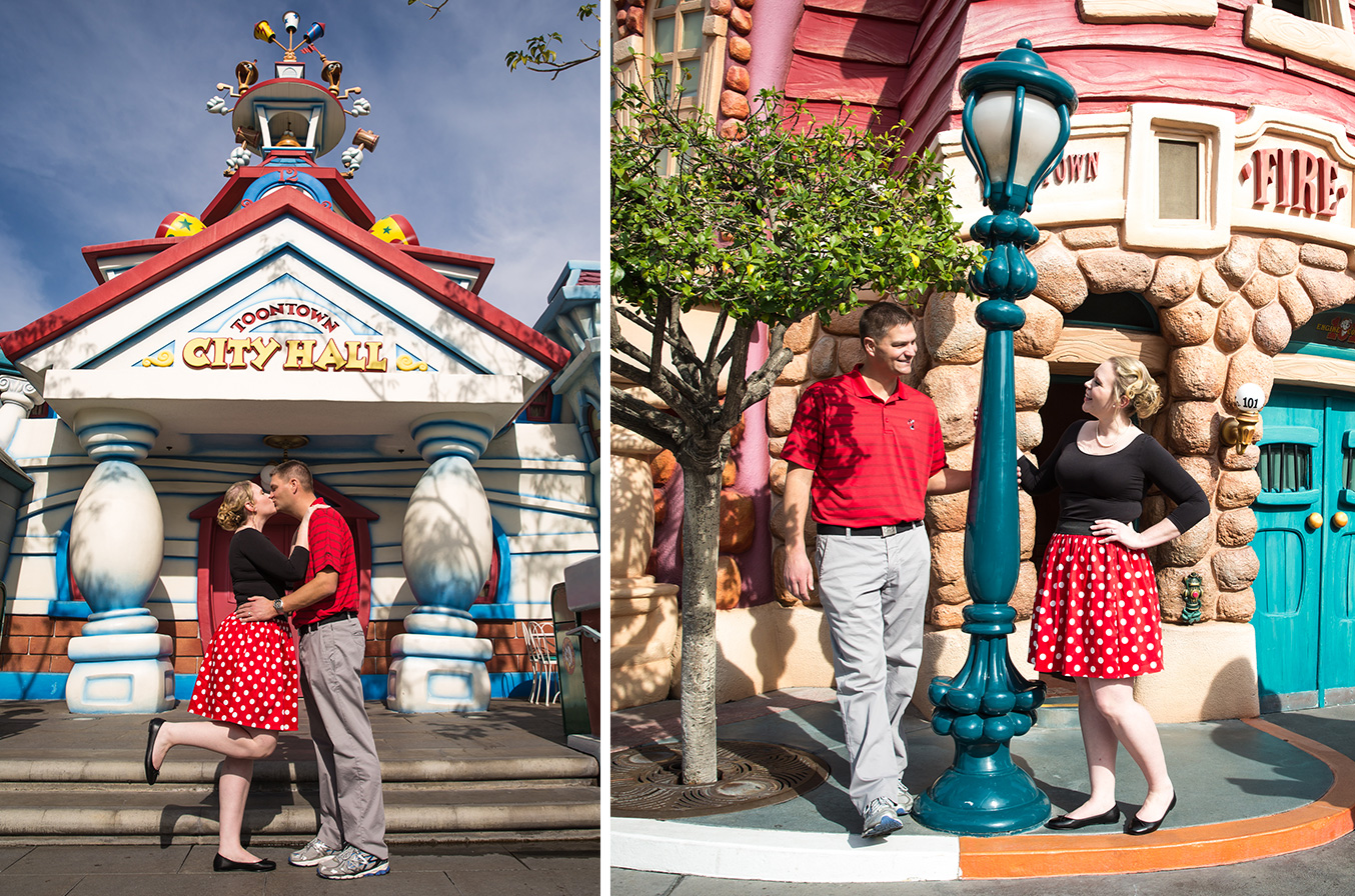 Mickey's Toontown provided such fun, playful architecture.