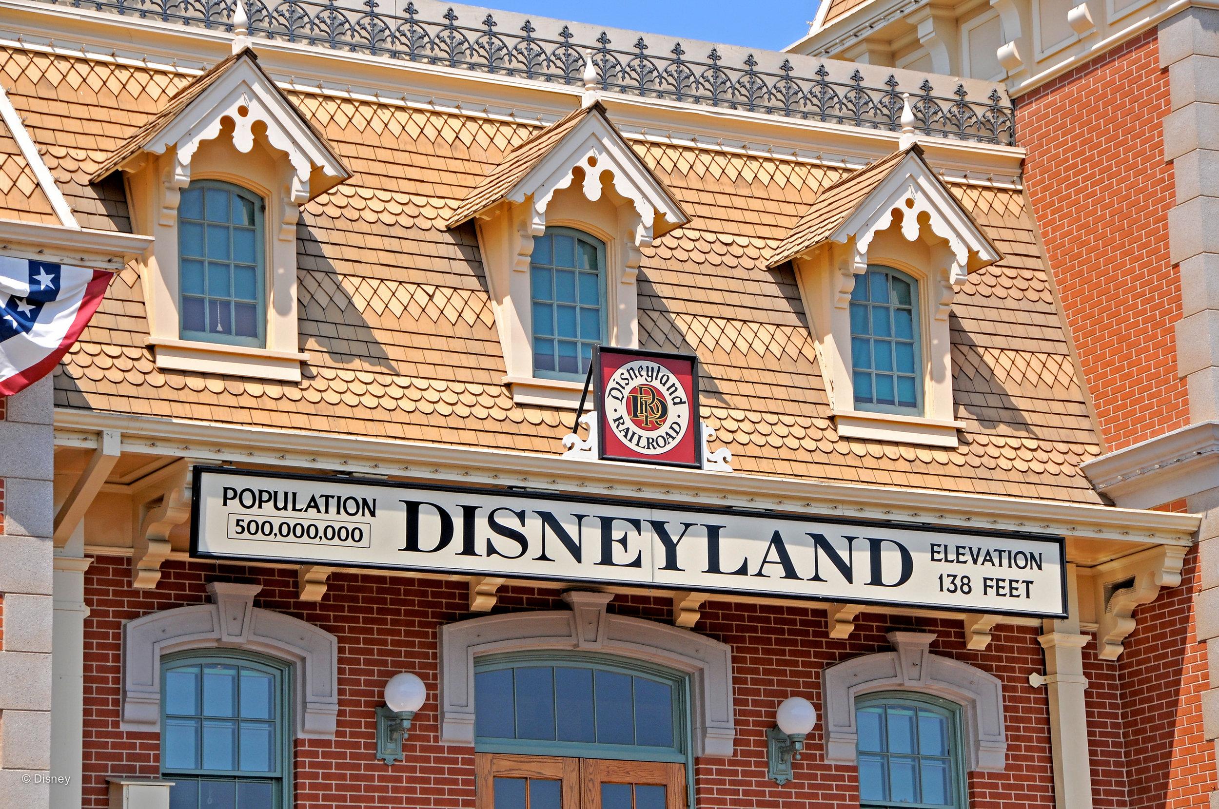 Attraction #2: The Disneyland Railroad