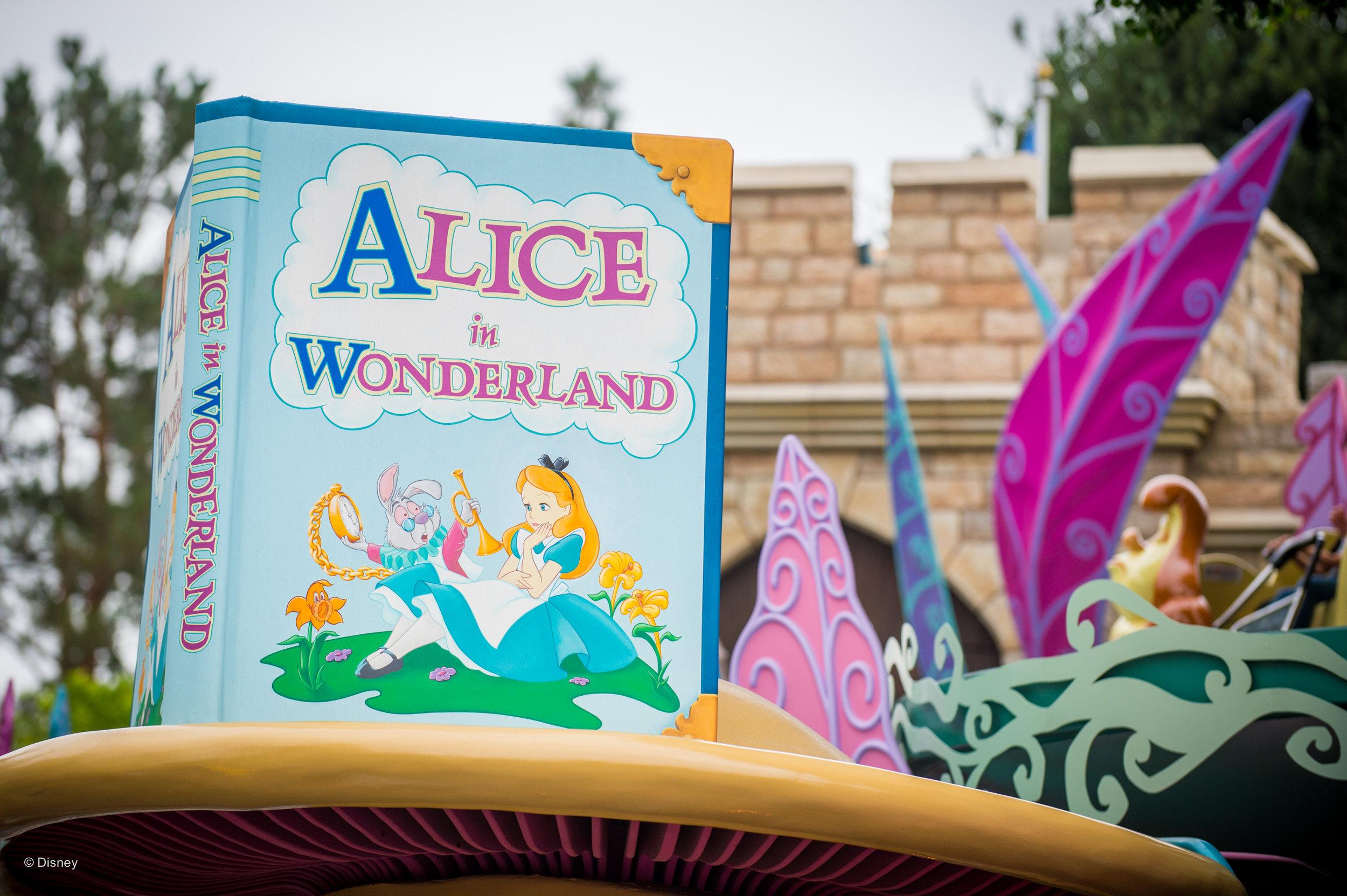 Attraction #1: Alice in Wonderland