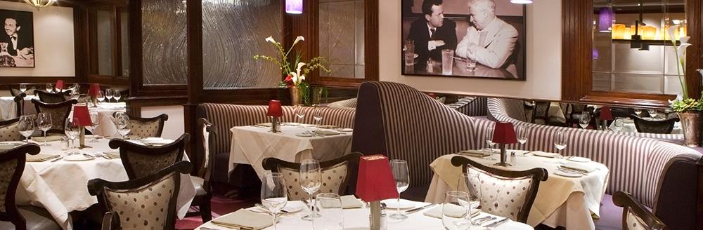 Steakhouse 55 restaurant in the Disneyland Hotel. PHOTO CREDIT: diningatdisney.com