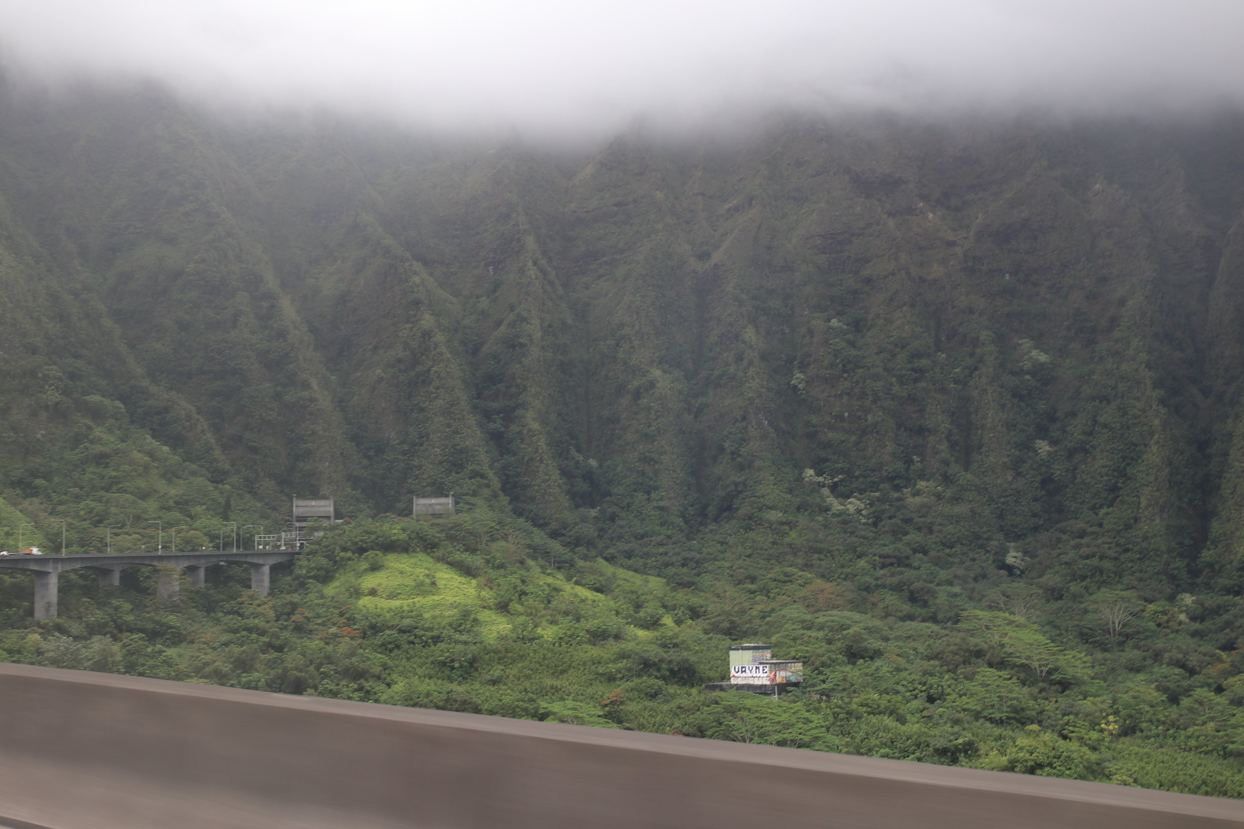 Approaching the Tetsuo Harano Tunnel on H3.