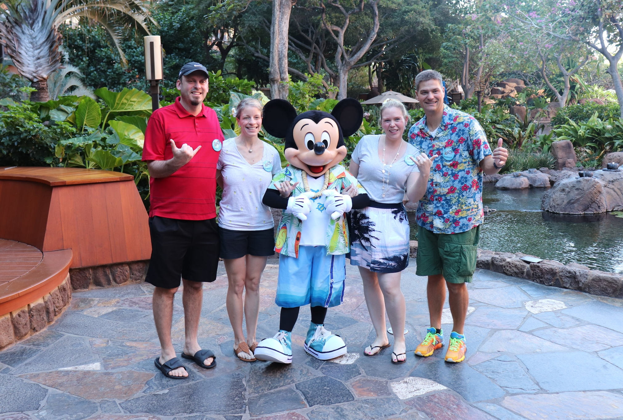 Hanging with Mickey!