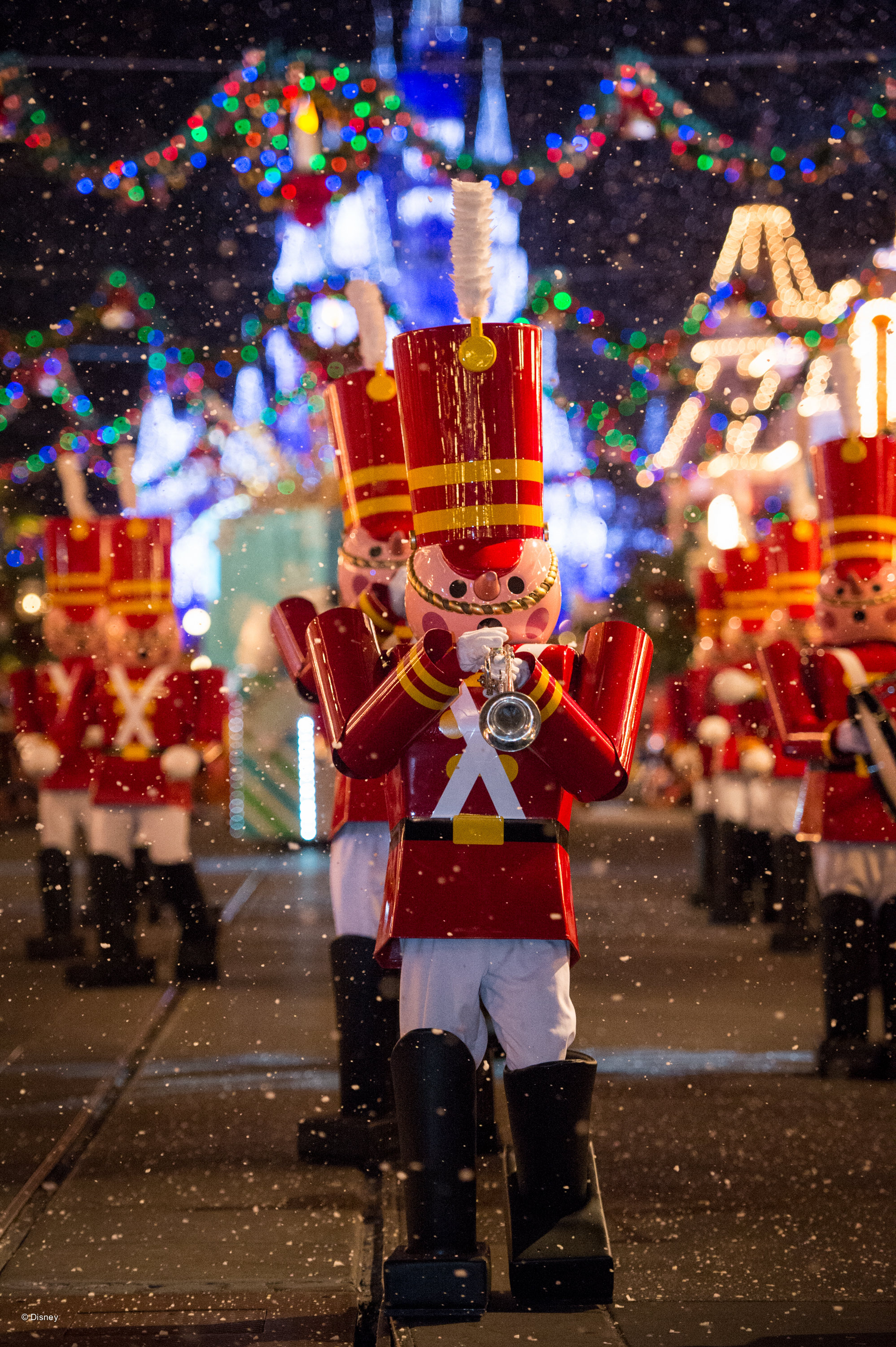 The toy soldiers in the parade are a favorite!