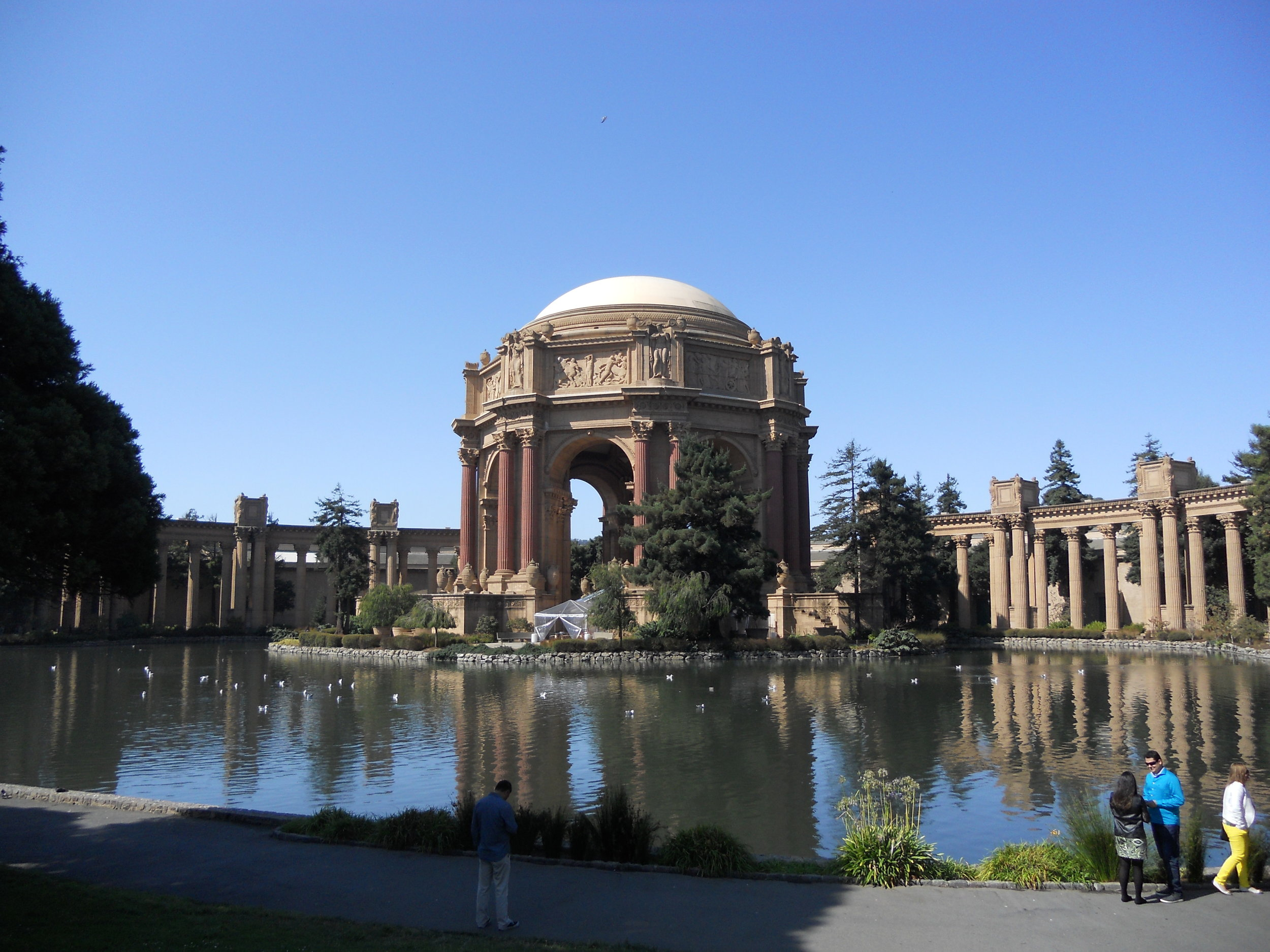 The Palace of Fine Arts Theatre.
