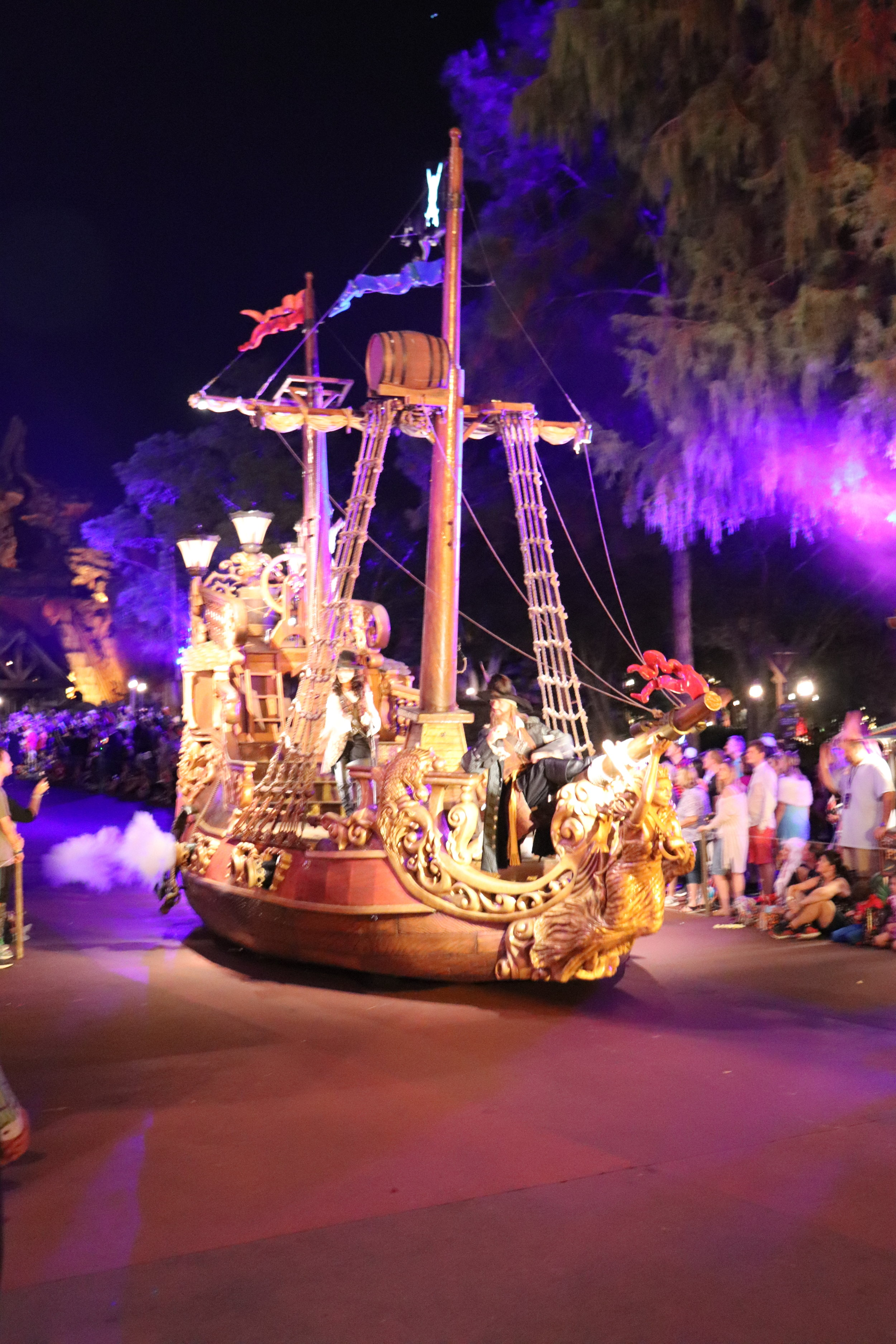 This ship features a few favorite pirates.