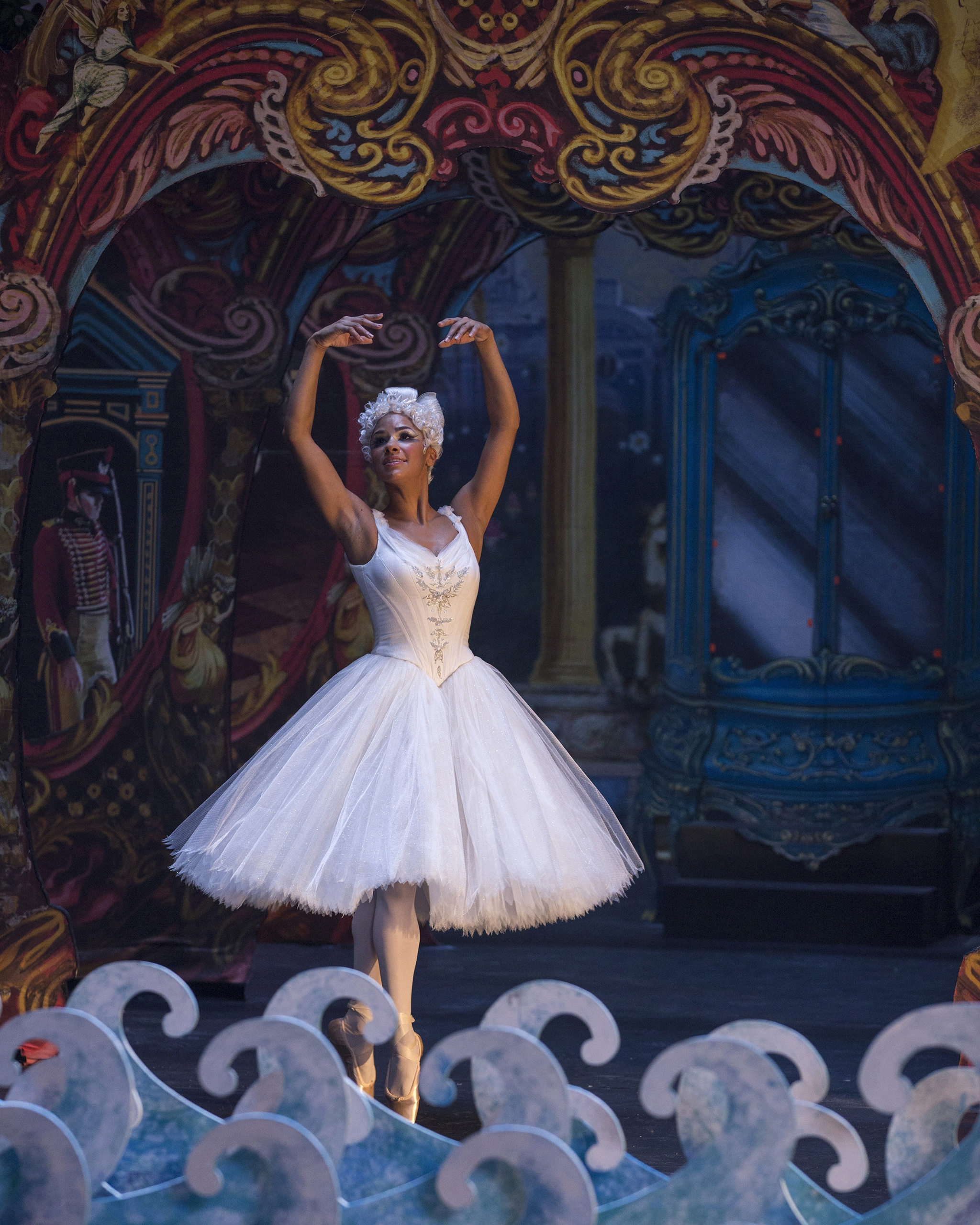 Misty Copeland doing what she does best.