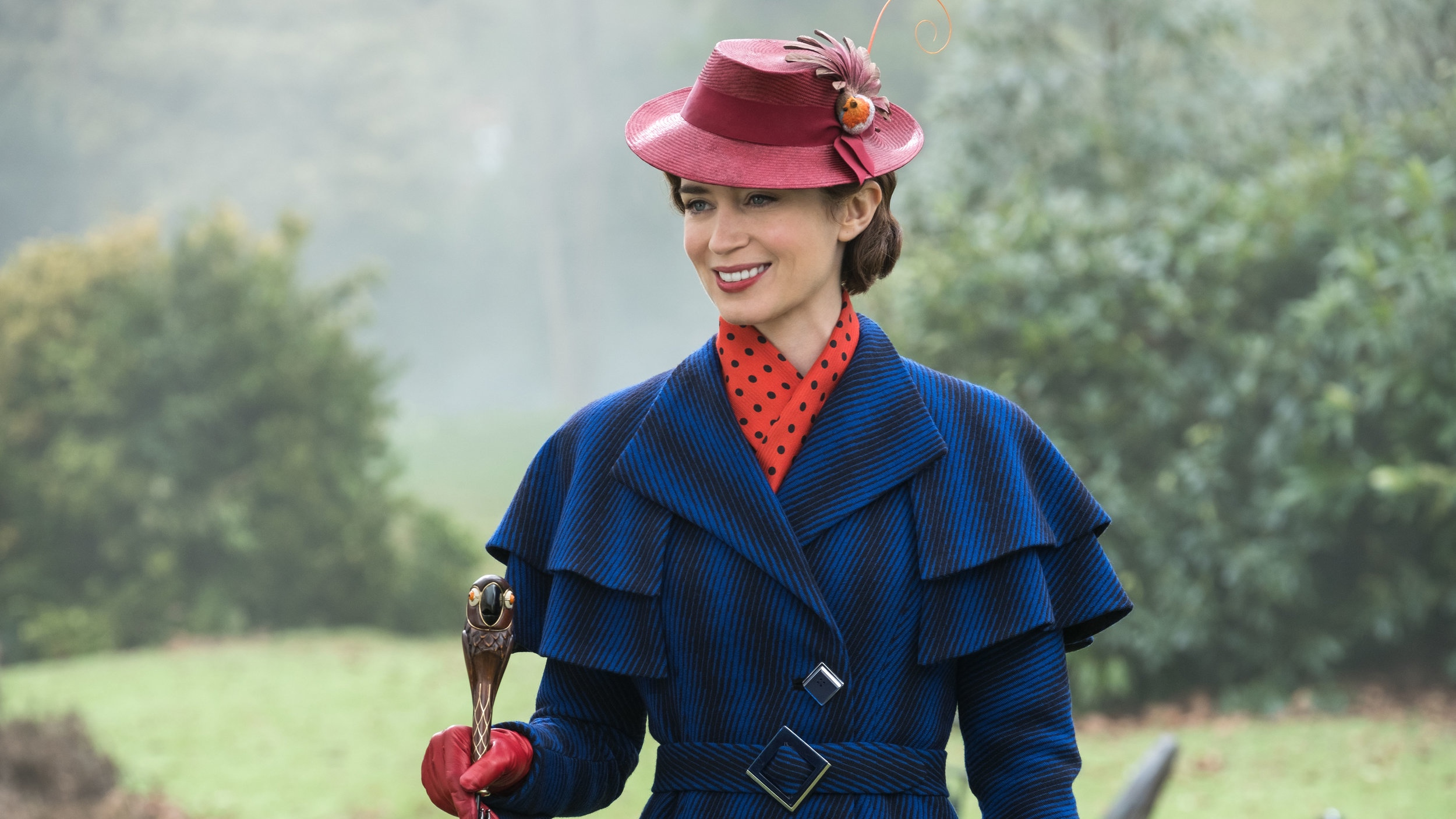 Emily Blunt has picked up the iconic role originally brough to life by Julie Andrews.