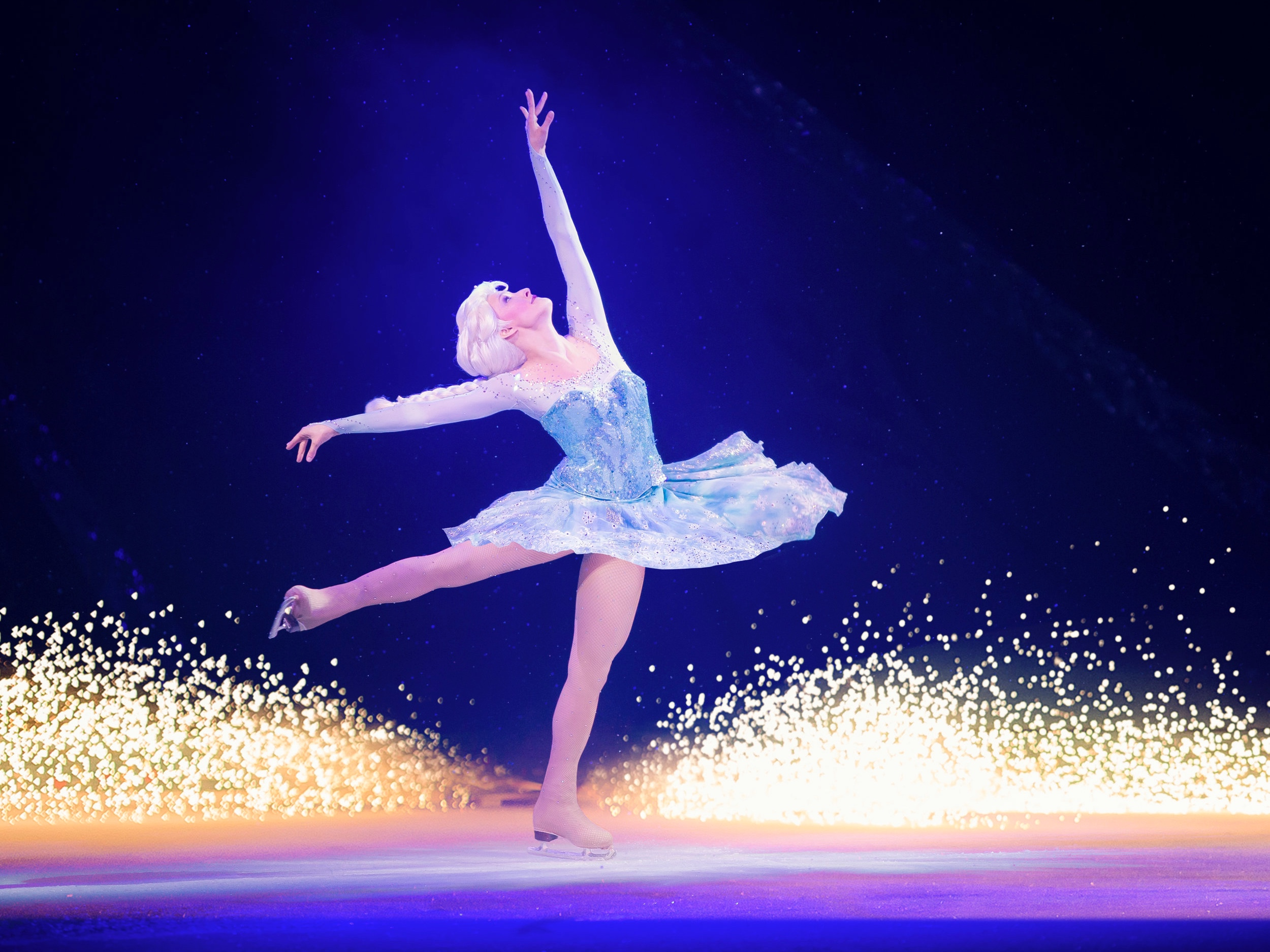 What is Disney On Ice without the Ice Queen herself?   Copyright ©2014, Feld Entertainment, Inc. All Rights Reserved. Used with Permission from Feld Entertainment