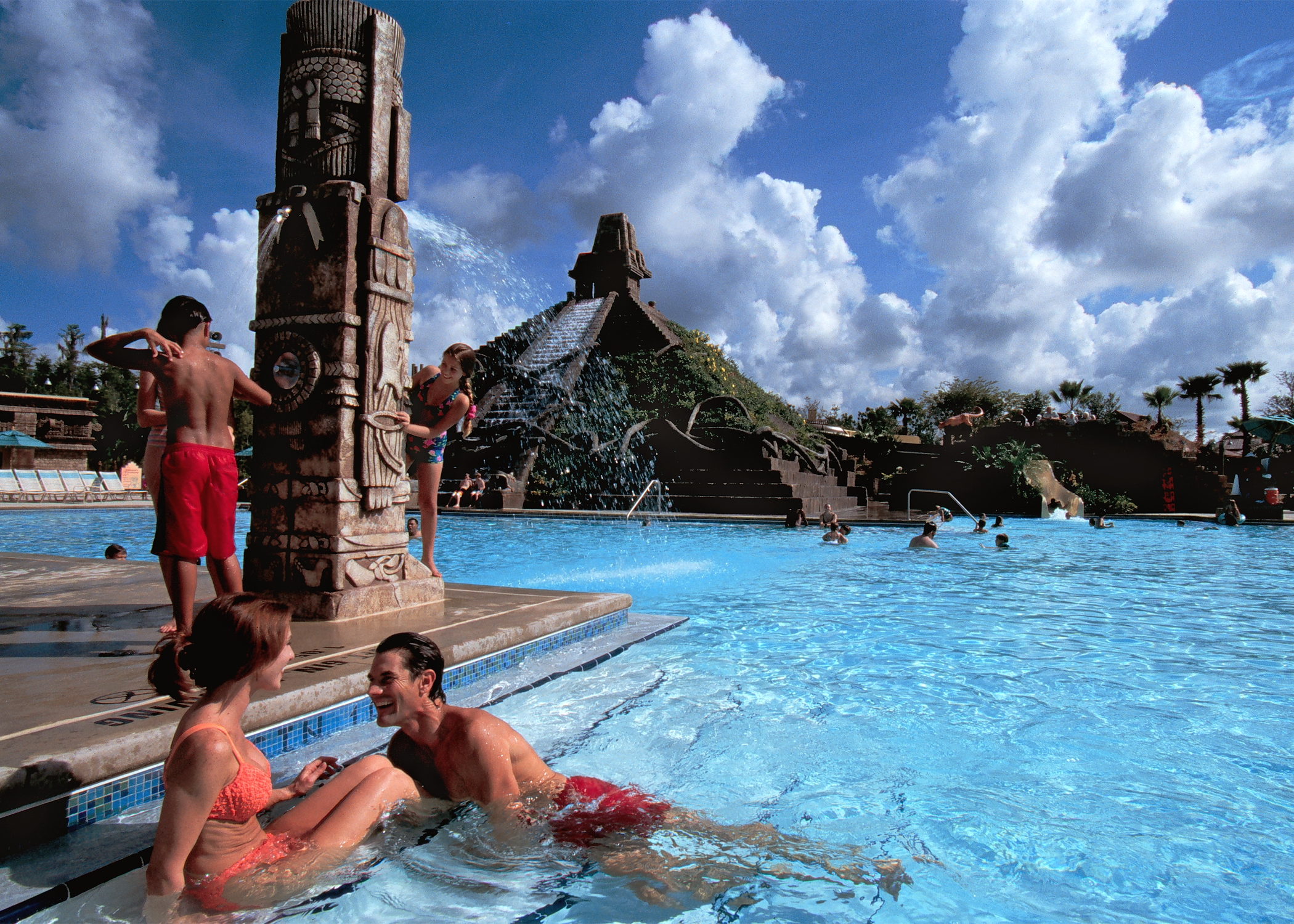 "The ""Dig Site"" pool area was closed for refurbishment. (Photo: Disney)"