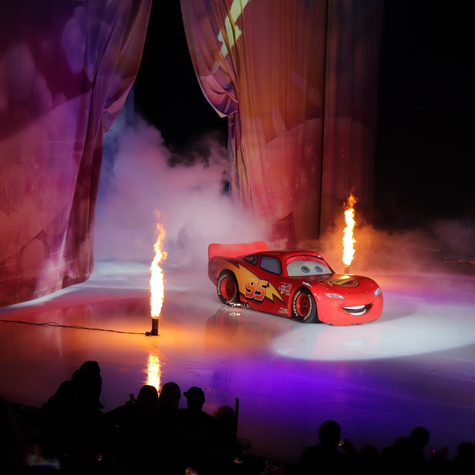 """""""Kachow"""" has more punch with some flames!"""