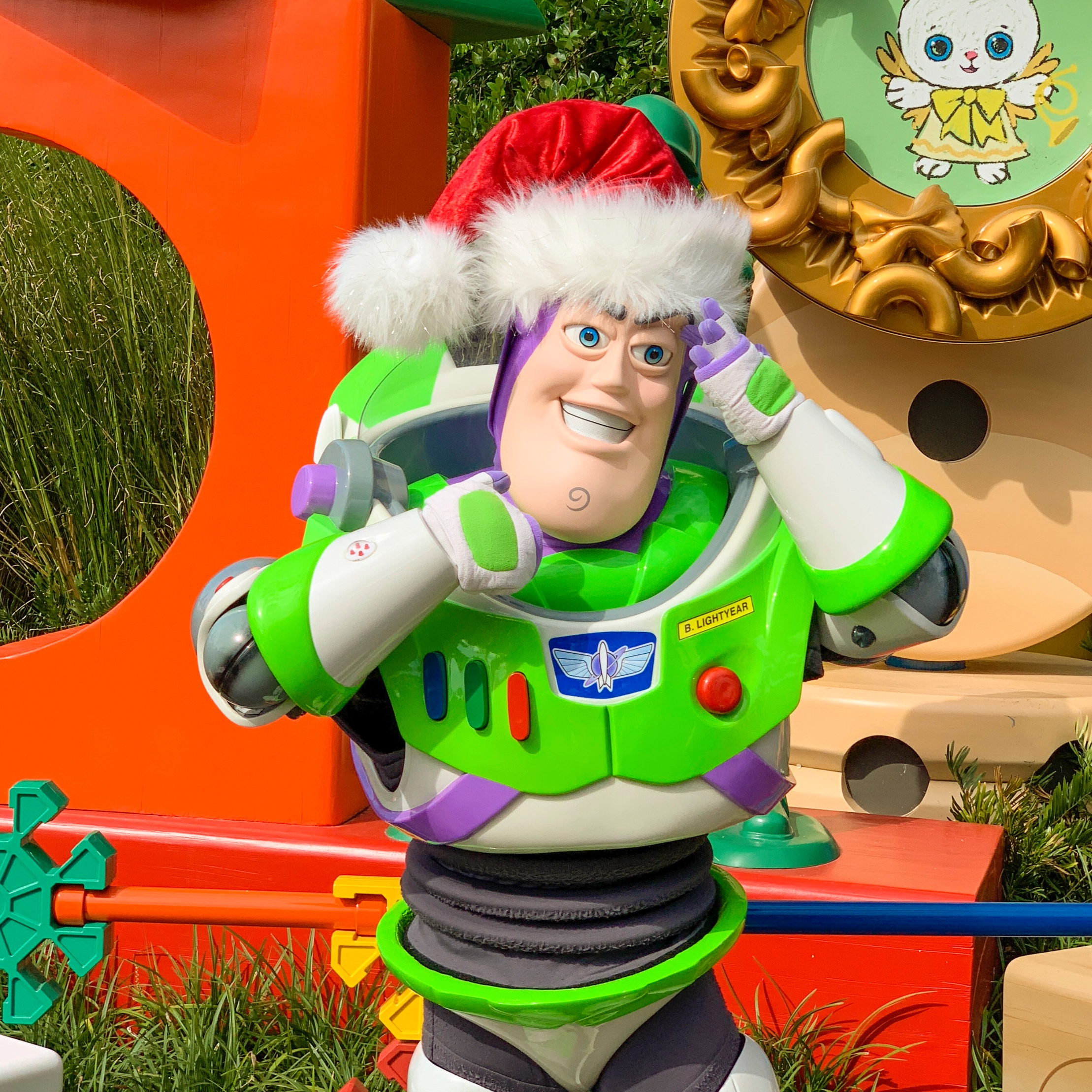 Buzz ready for the holidays.
