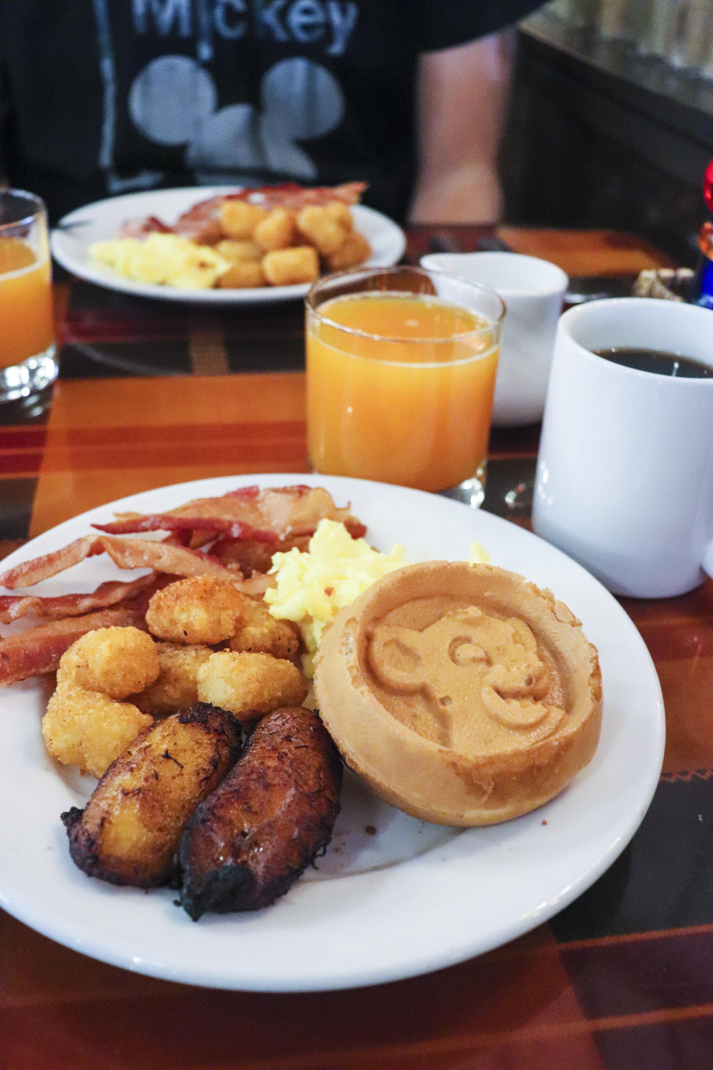 Check out that Simba waffle!