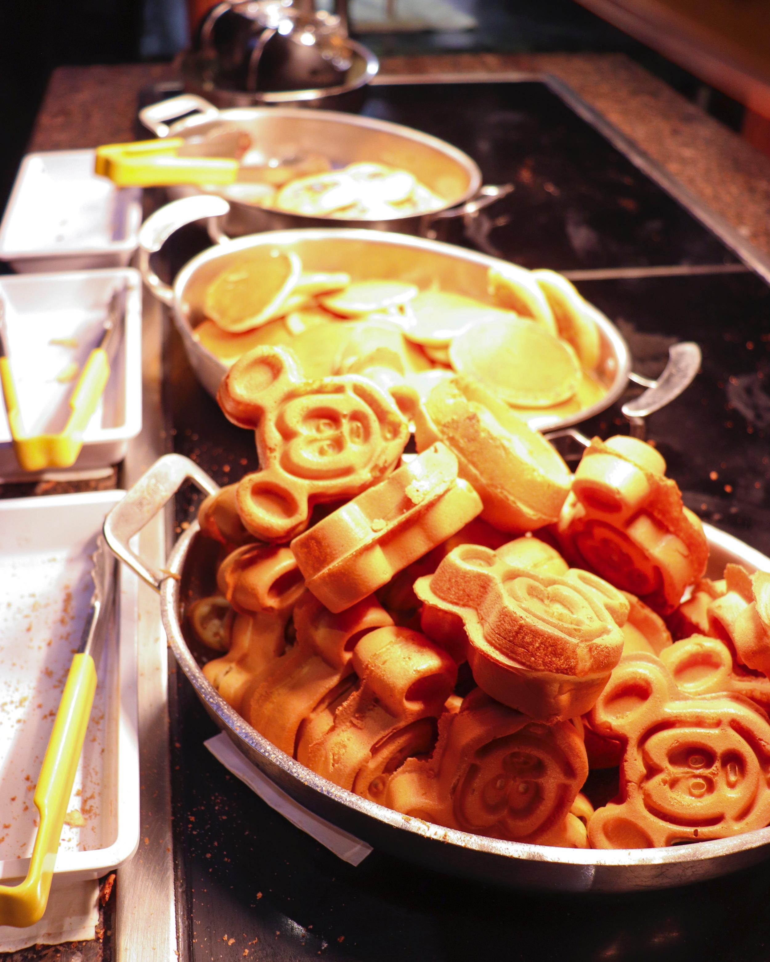 Mmm Mickey Waffles.