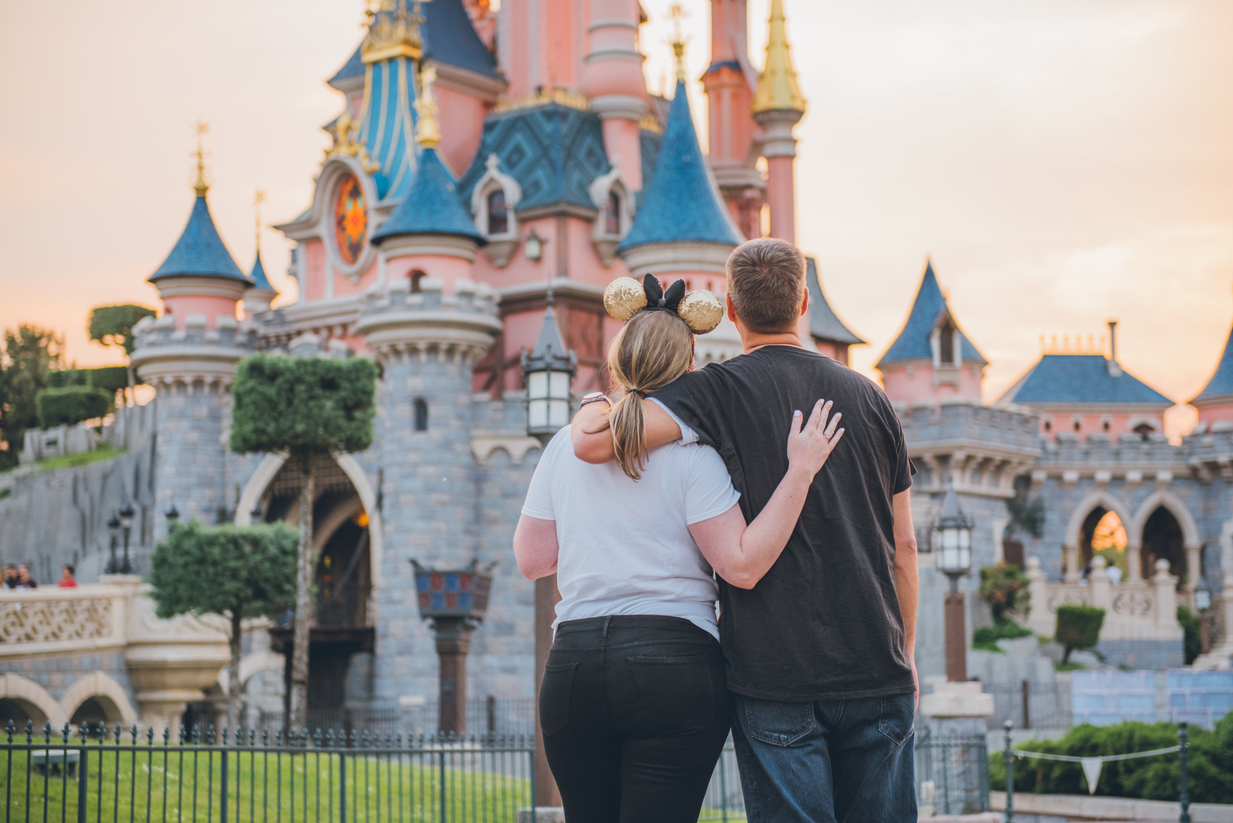 Looking ahead, our financial future is looking pretty bright. Setting goals and sticking to them makes moments like this one in Disneyland Paris possible.  PHOTO CREDIT:    Silvy Maatman