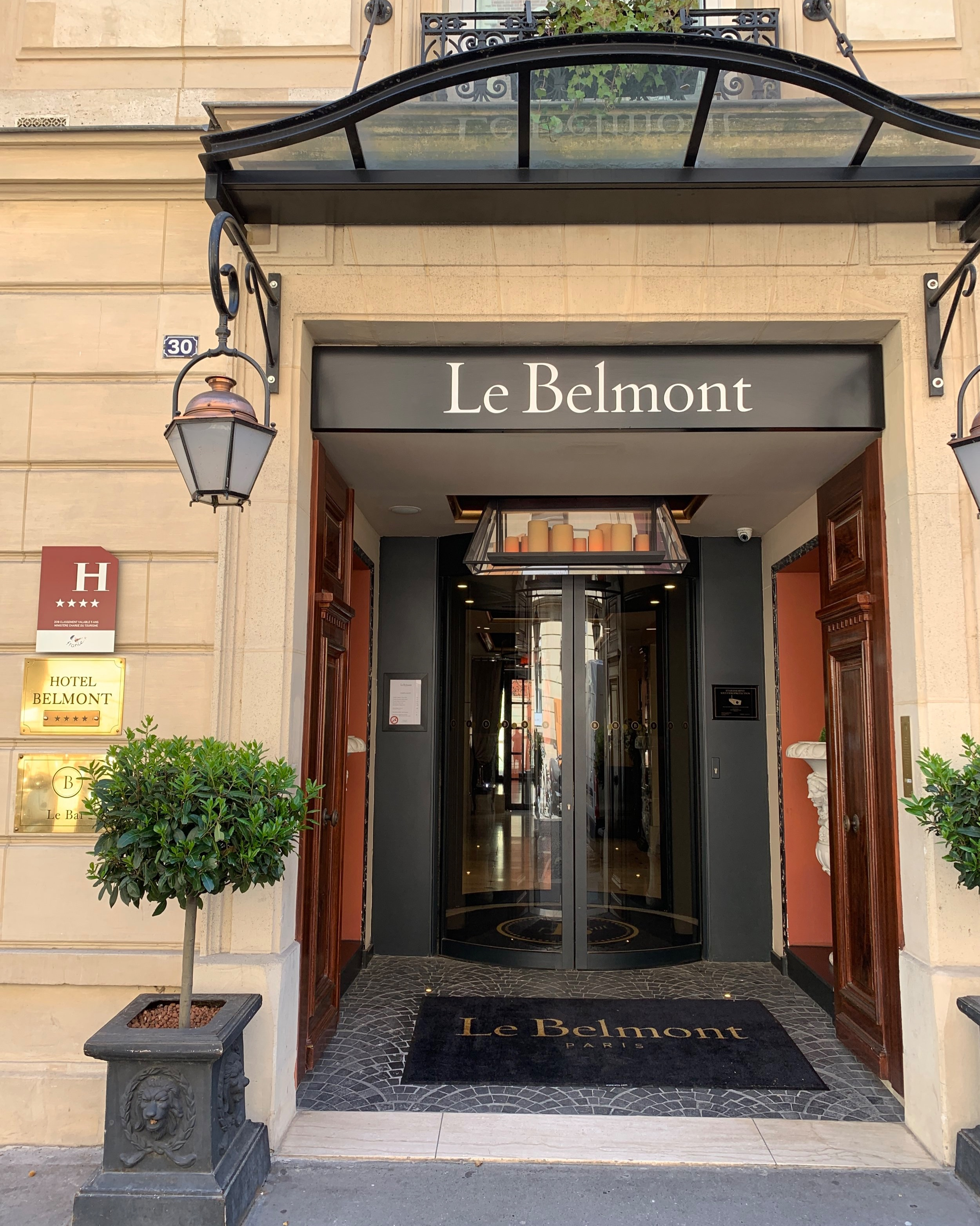 Welcome to Le Belmont…