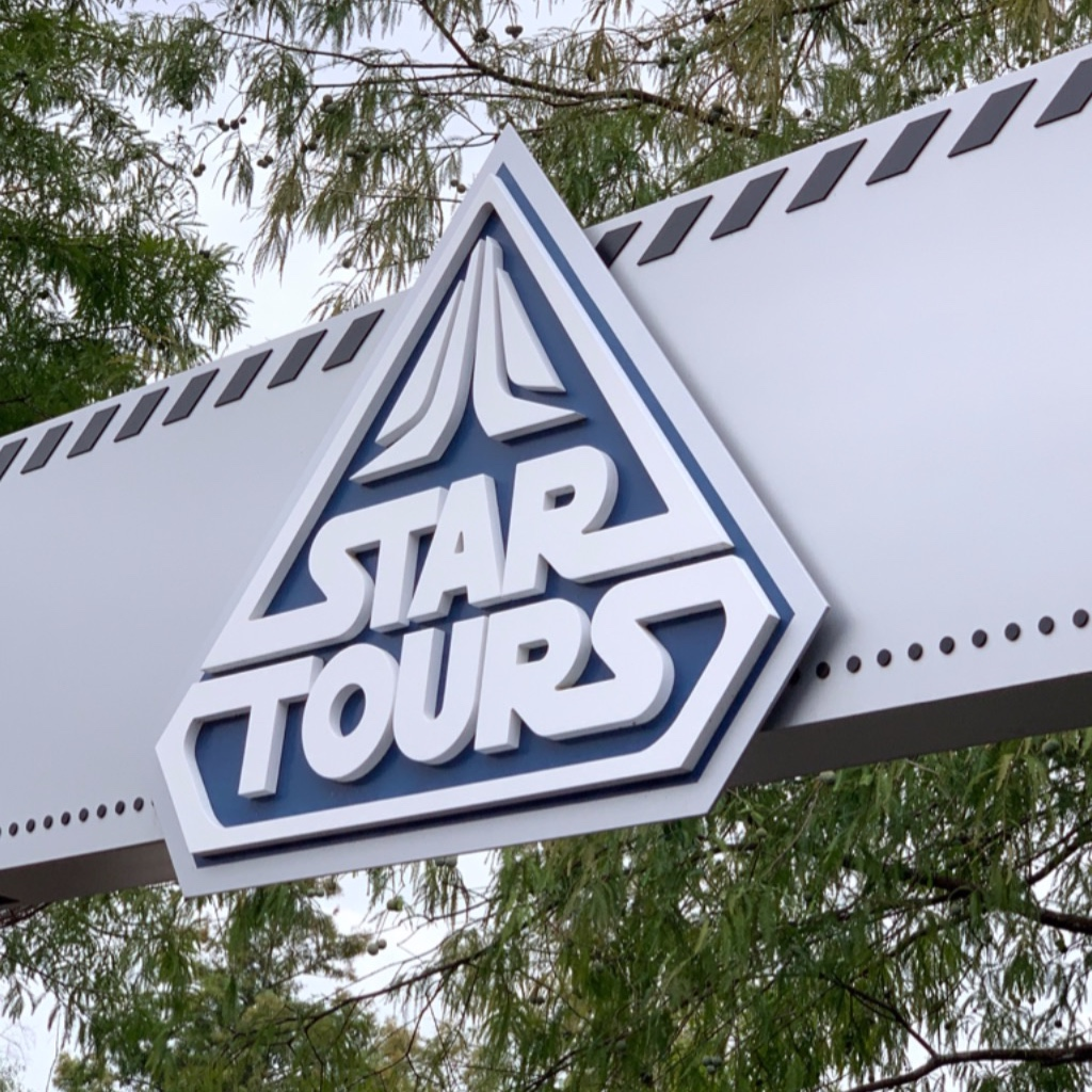 Star Tours is always a fun ride!