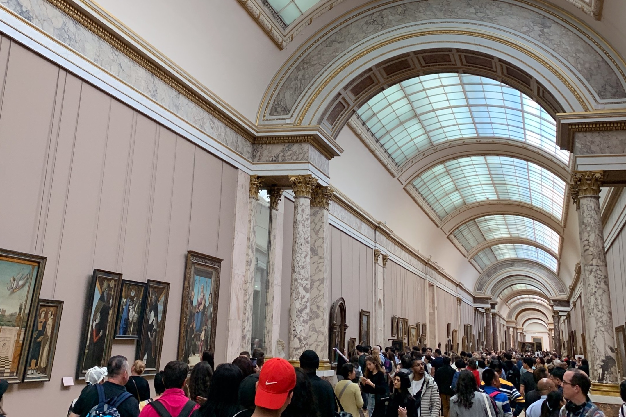 Yeah, you could say the Louvre is popular.