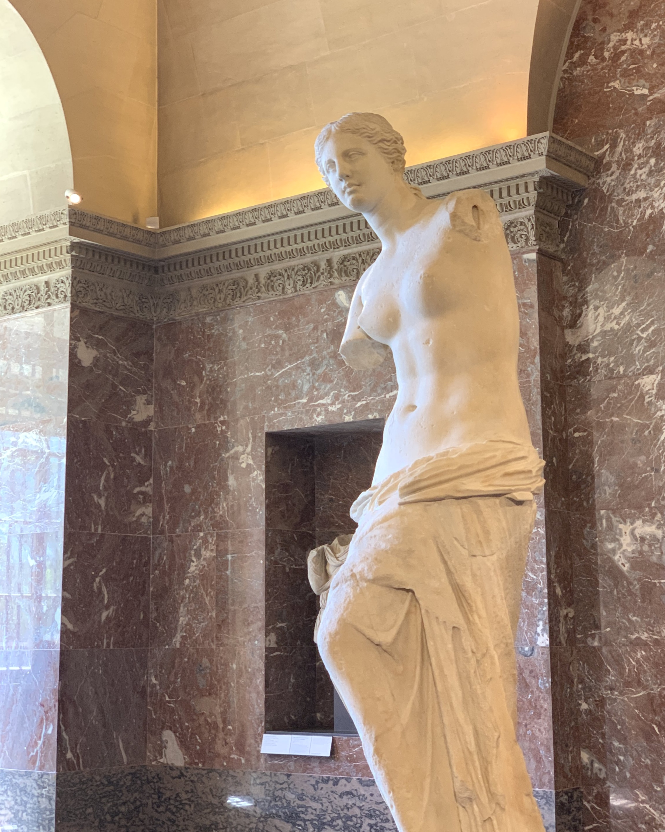 The Venus de Milo.