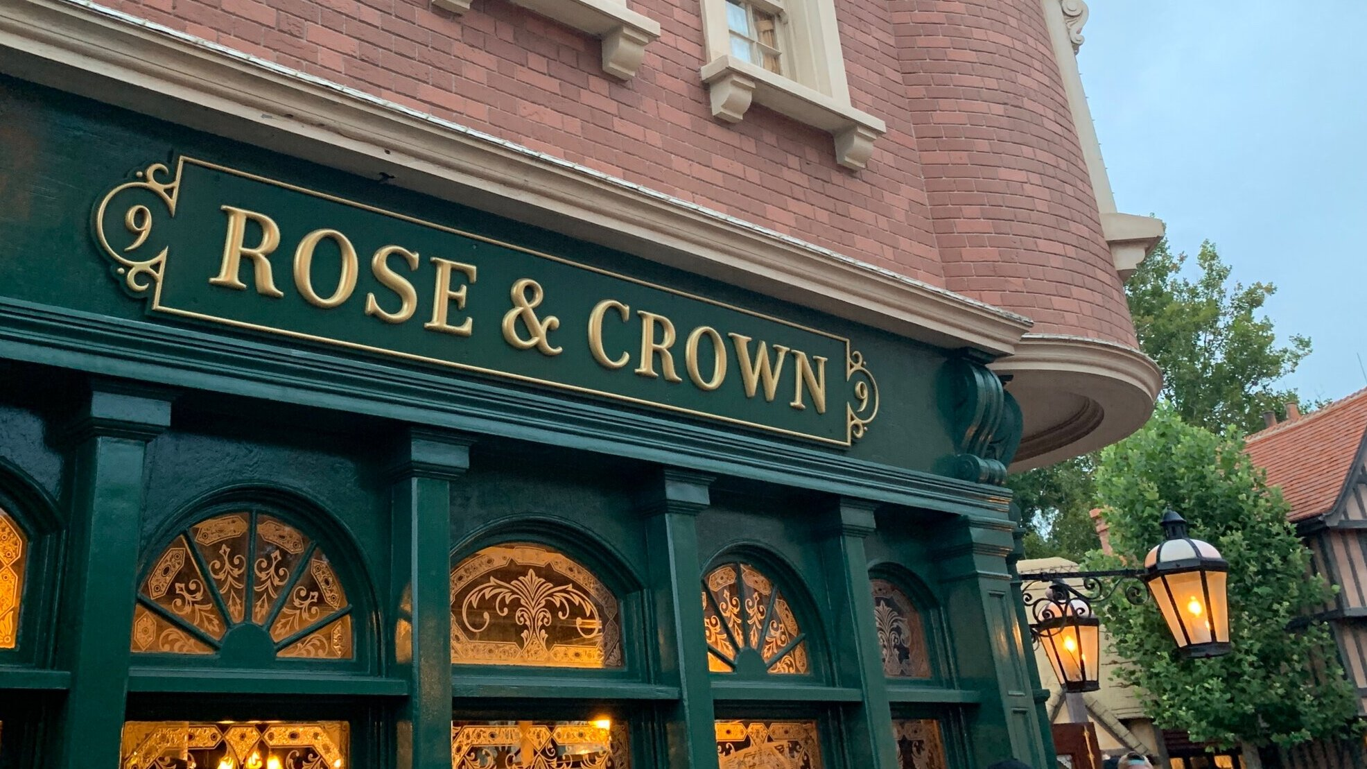 The Rose & Crown has always been a favorite spot of ours.