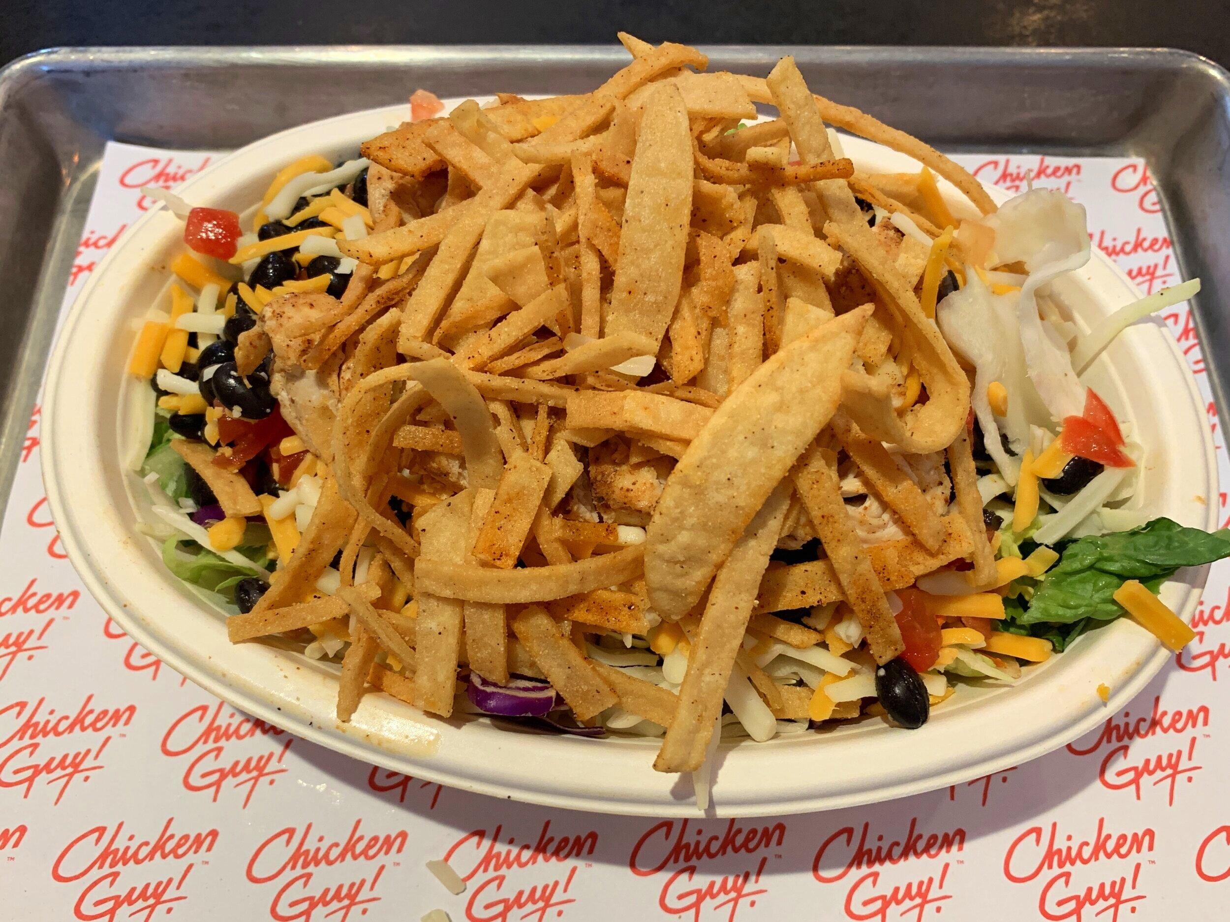 Look at this epic salad bowl!