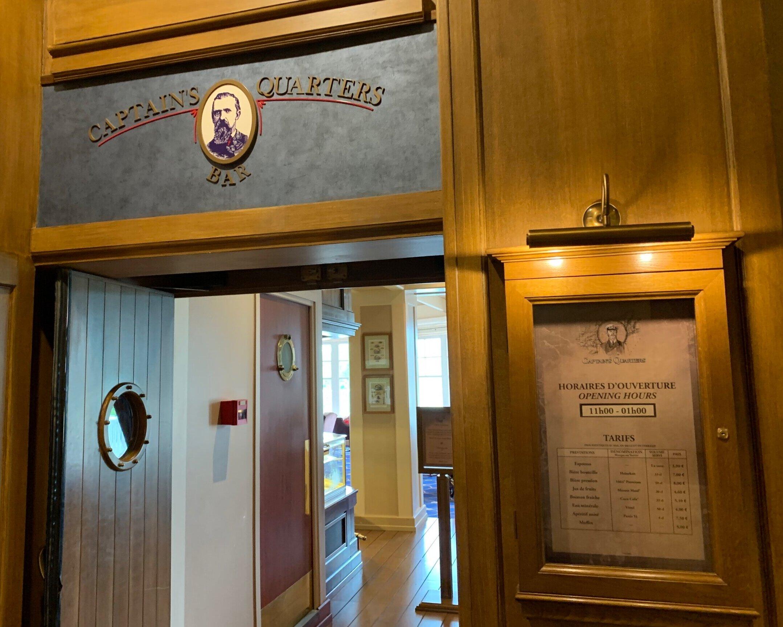 The Captain's Quarters Bar.
