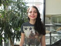 Kenza Iraki , Assistante de recherche, 2014  2016- Ingénieure en application mobile à Samsao
