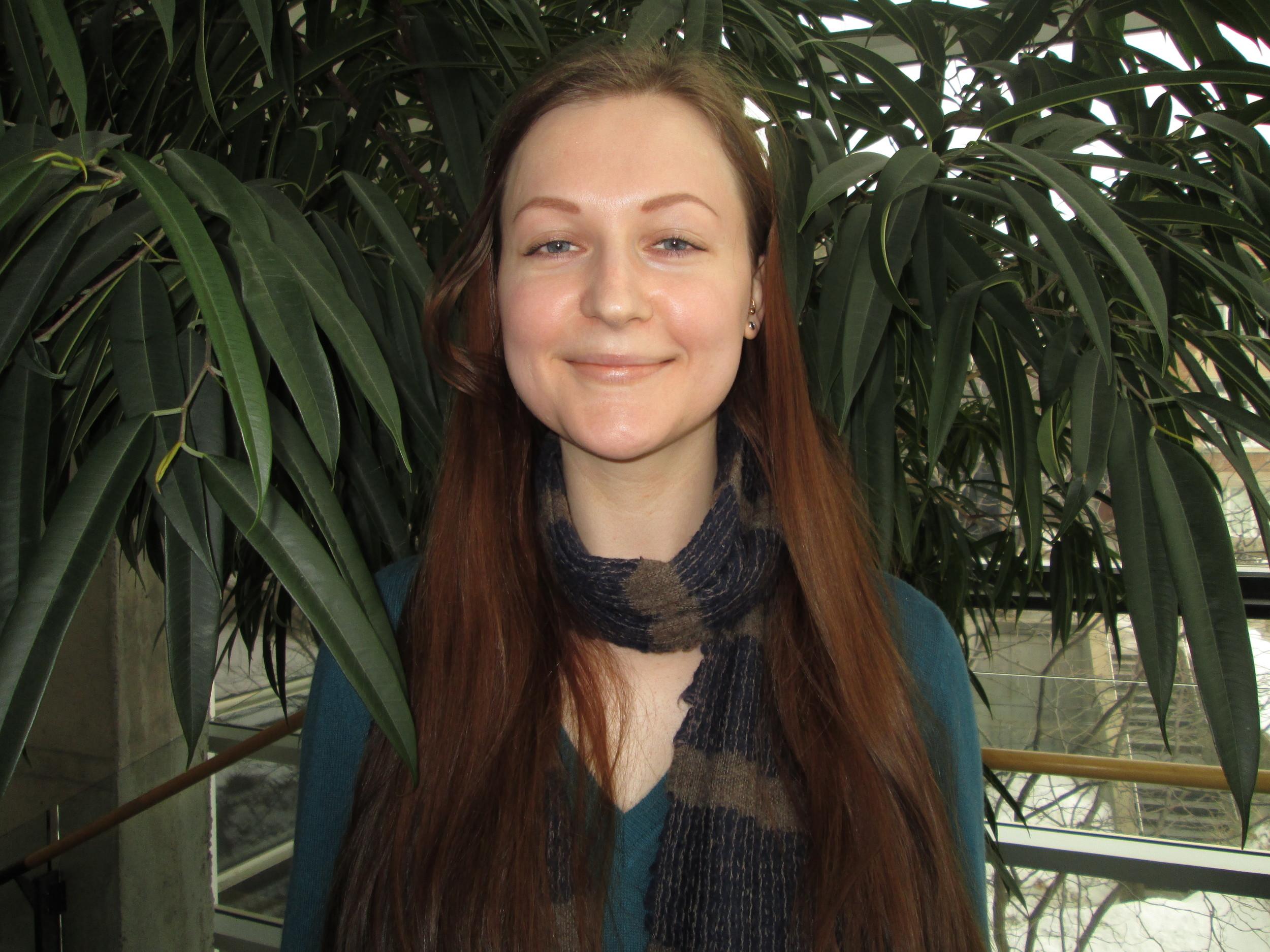 Daria Karbainova , Bénévole, 2013  2016- Maîtrise de recherche en Psychologie Clinique à l'Université