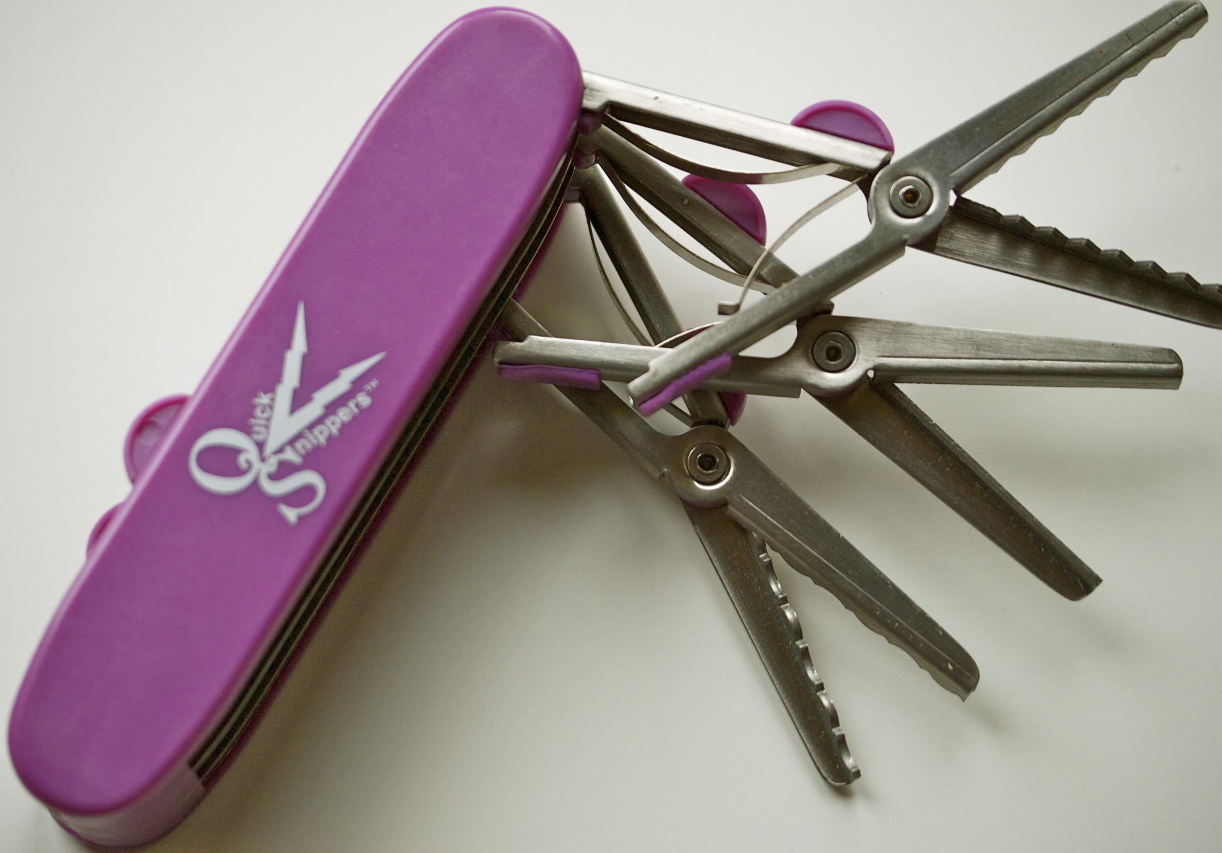 quick snippers scissors tool